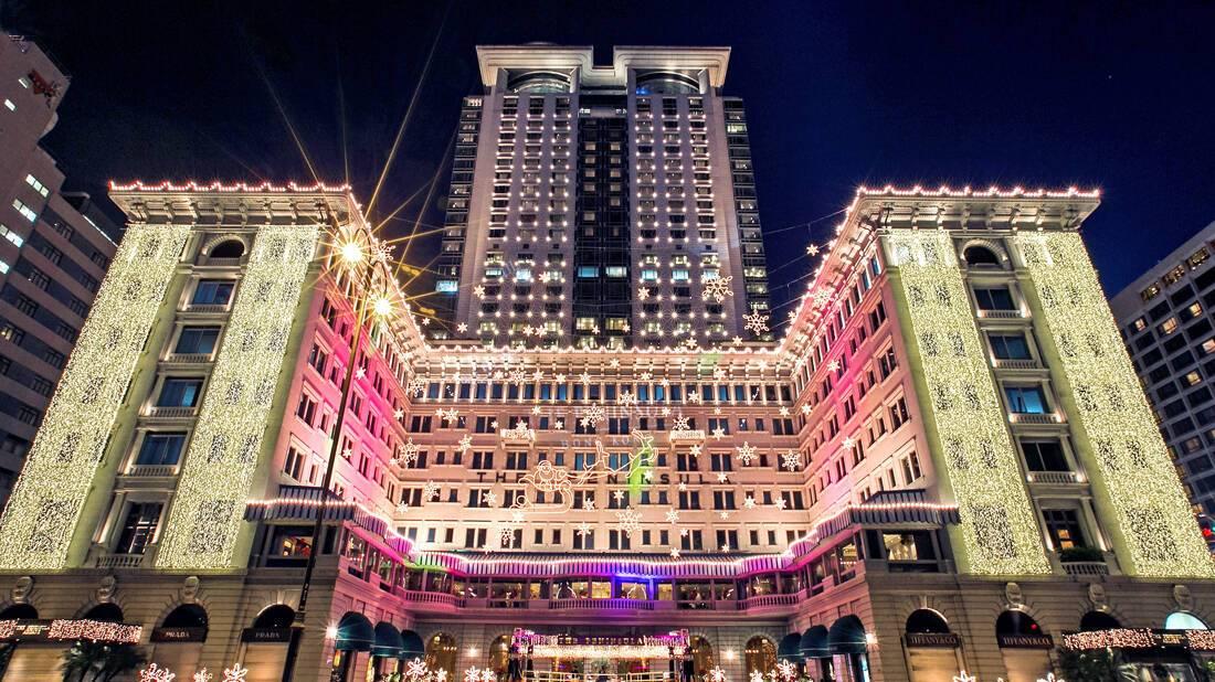 Peninsula Hong Kong Exterieur