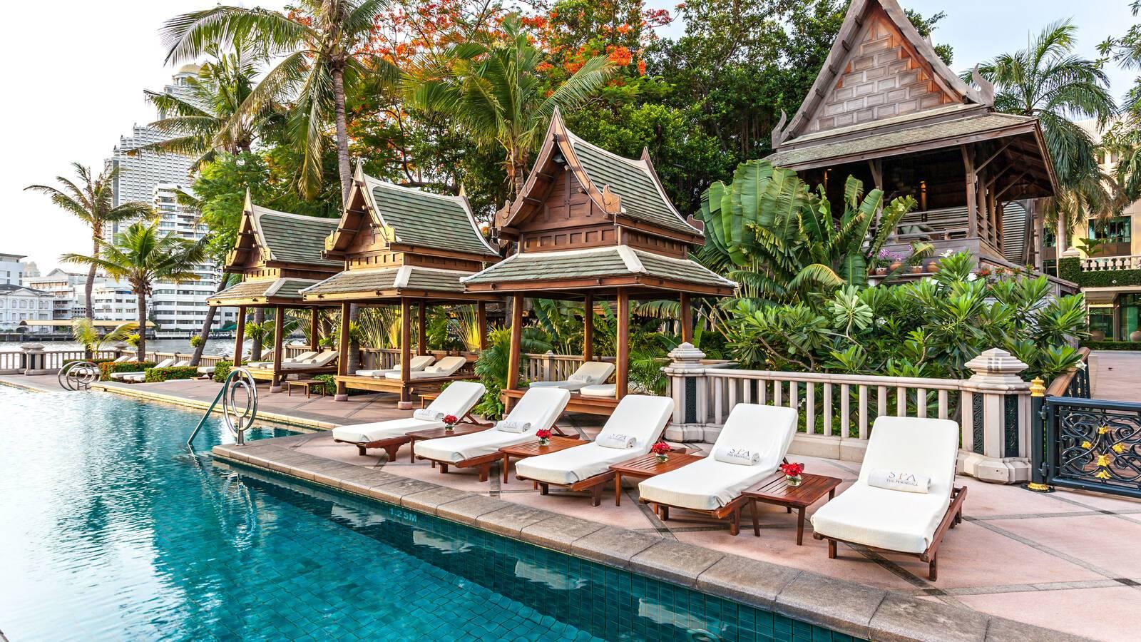 Peninsula Bangkok Piscine