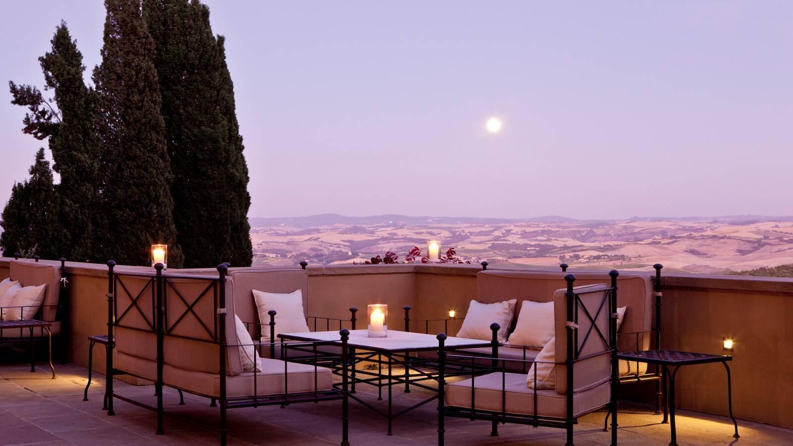 Rosewood Castiglion Bosco Toscane Drago Restaurant