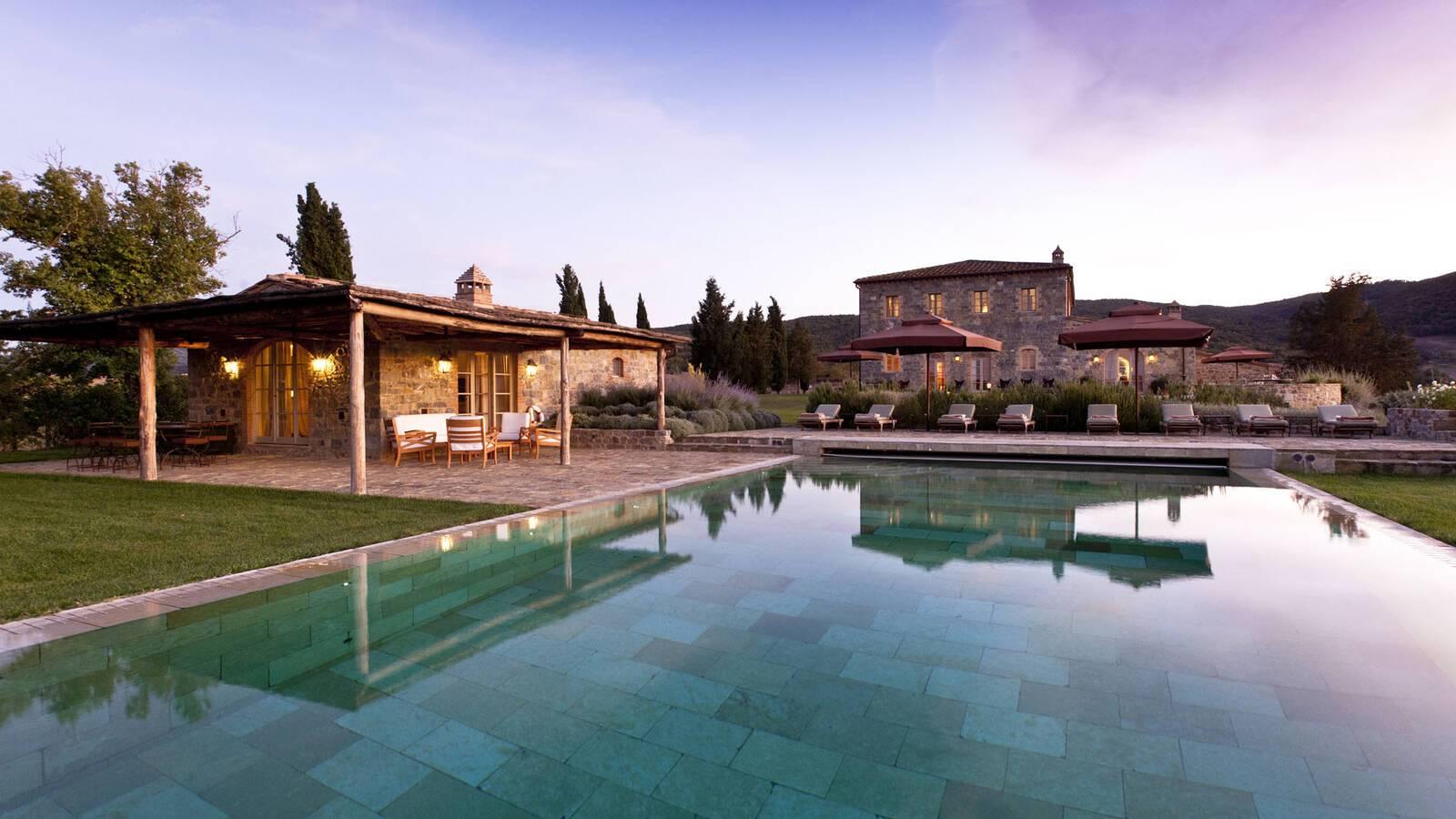 Rosewood Castiglion Bosco Toscane Villa Sant Anna