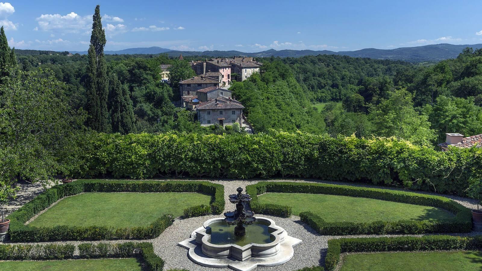 Il Borro Toscane Villa