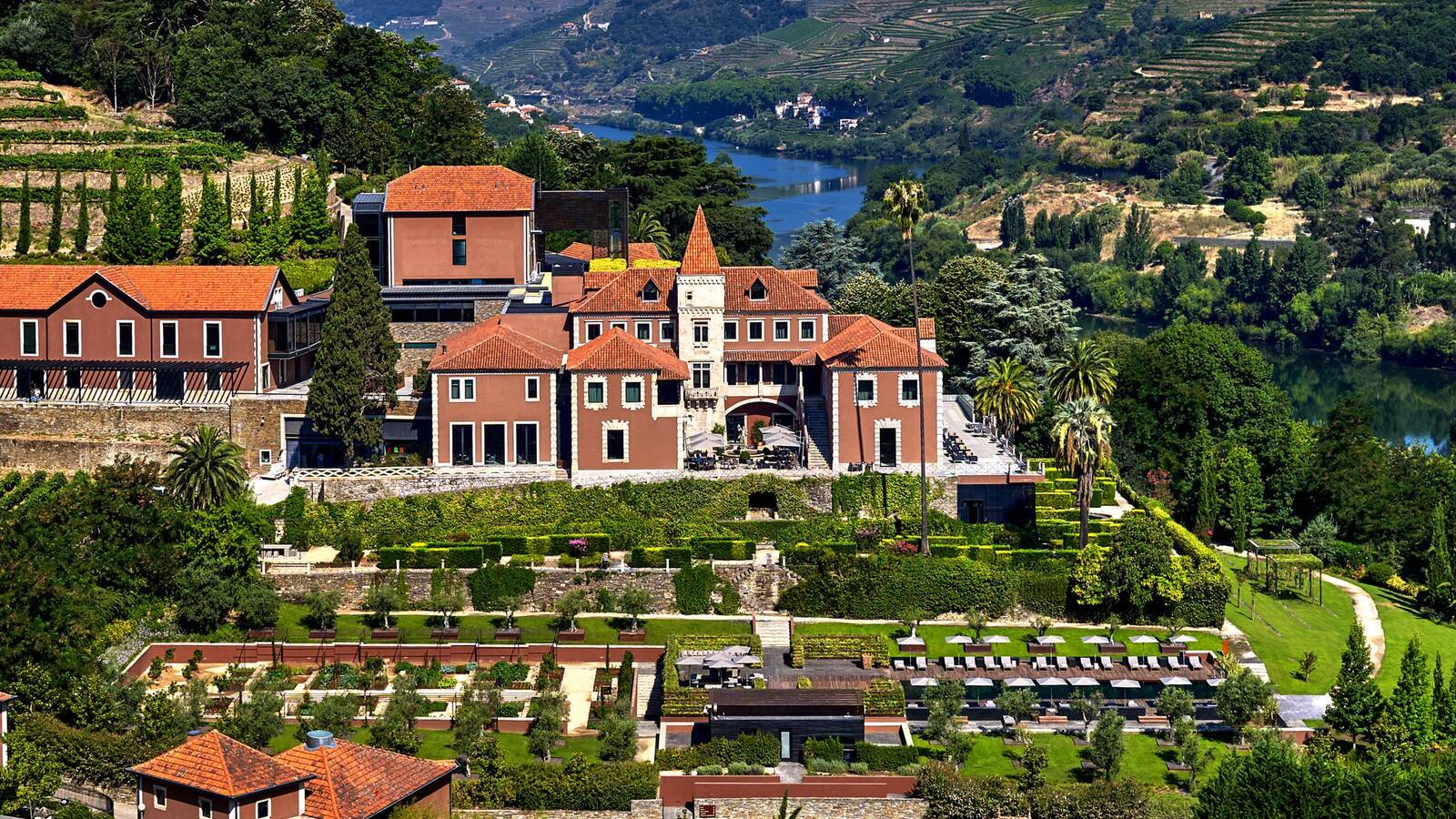 Six Senses Douro Valley Vue Aerienne
