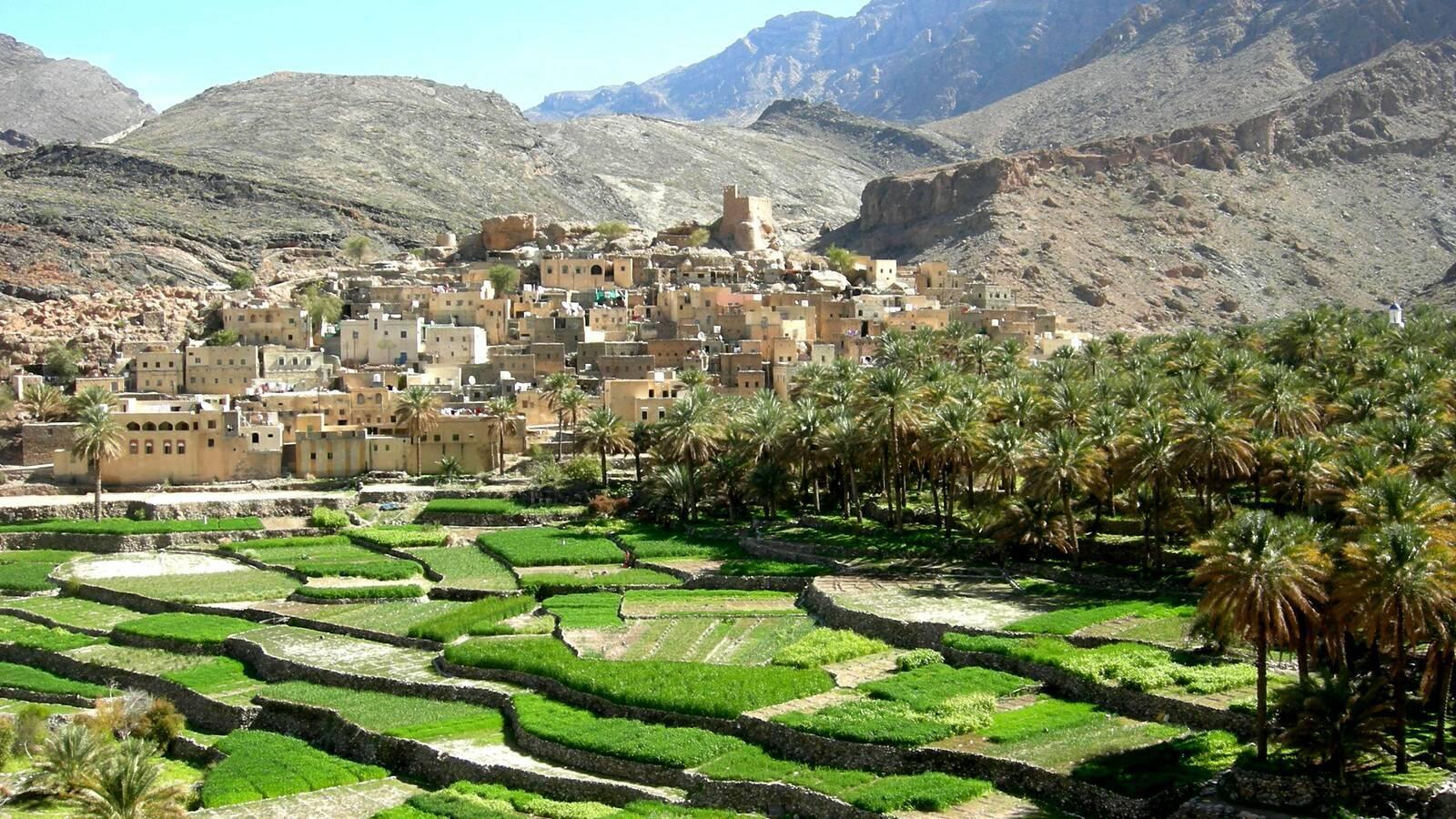 Bilad Sayt WadiBani Awf Oman Tourisme