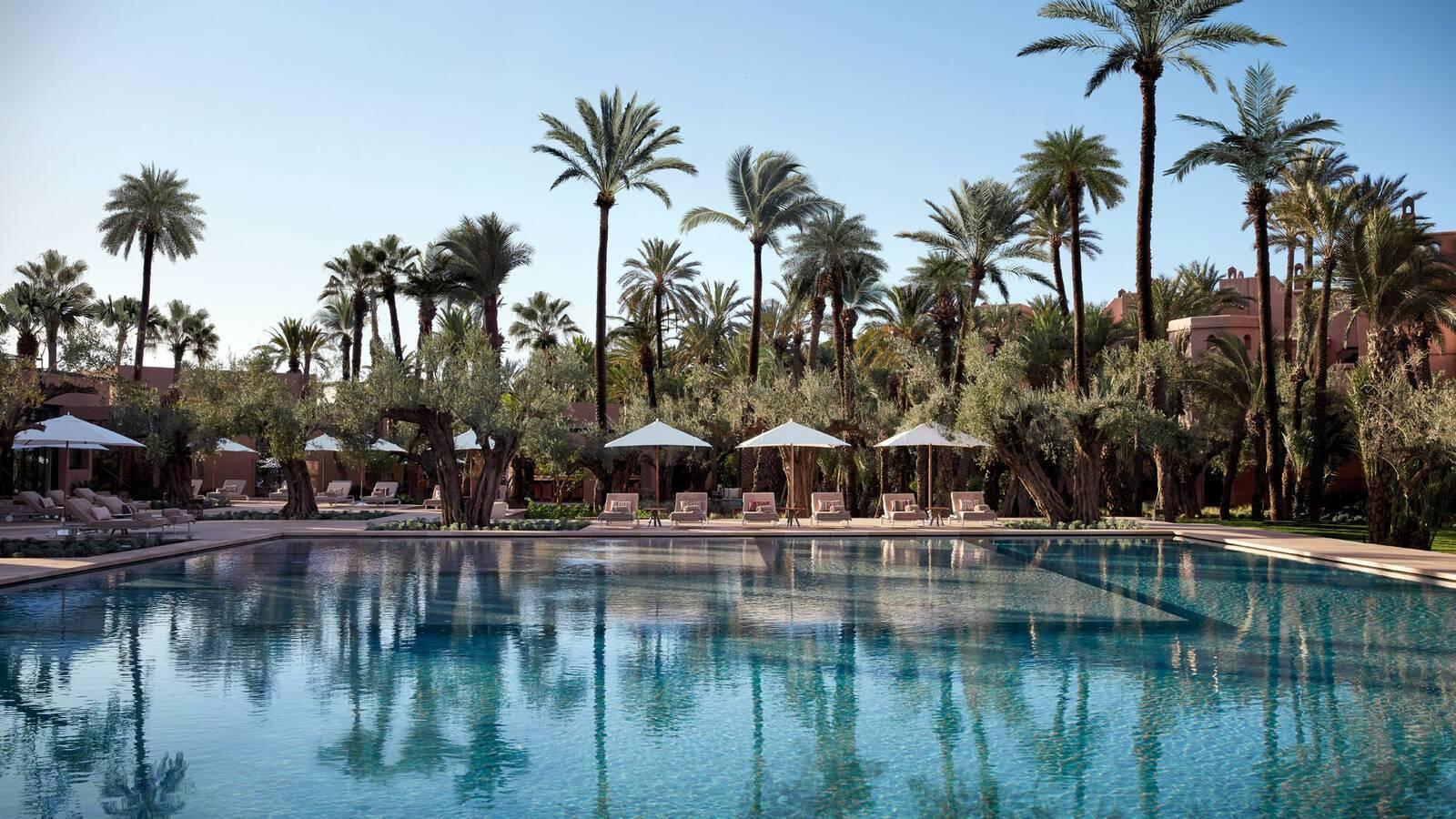 Royal Mansour Piscine Marrakech Maroc
