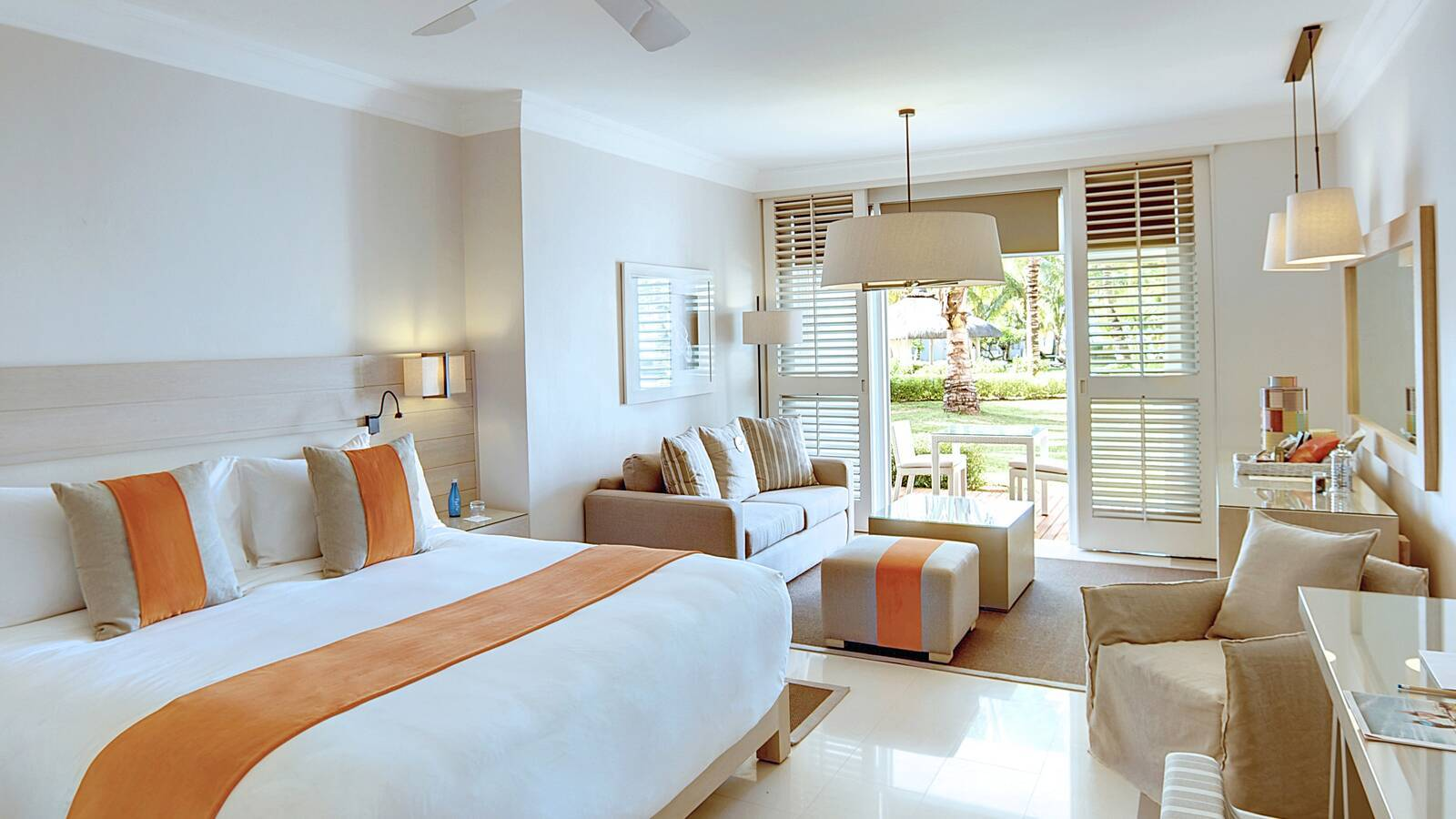Lux Belle Mare Junior Suite Chambre Maurice