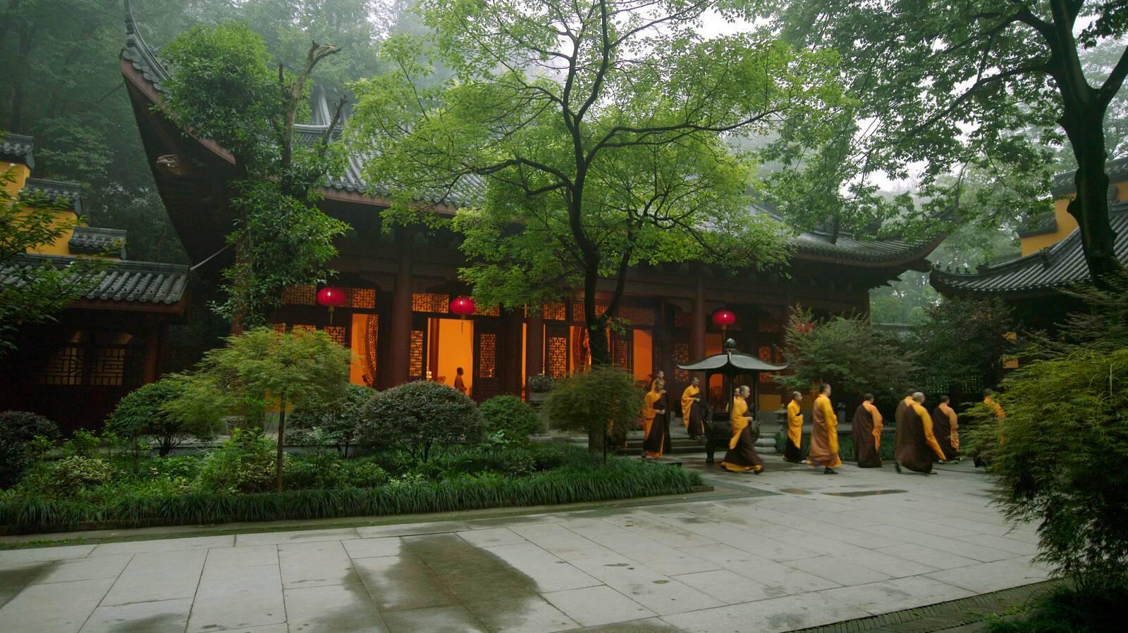 Amanfayun Hangzhou Chemin
