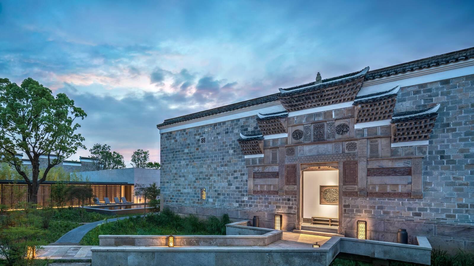 Amanyangyun Shanghai Antique Villa Exterieur
