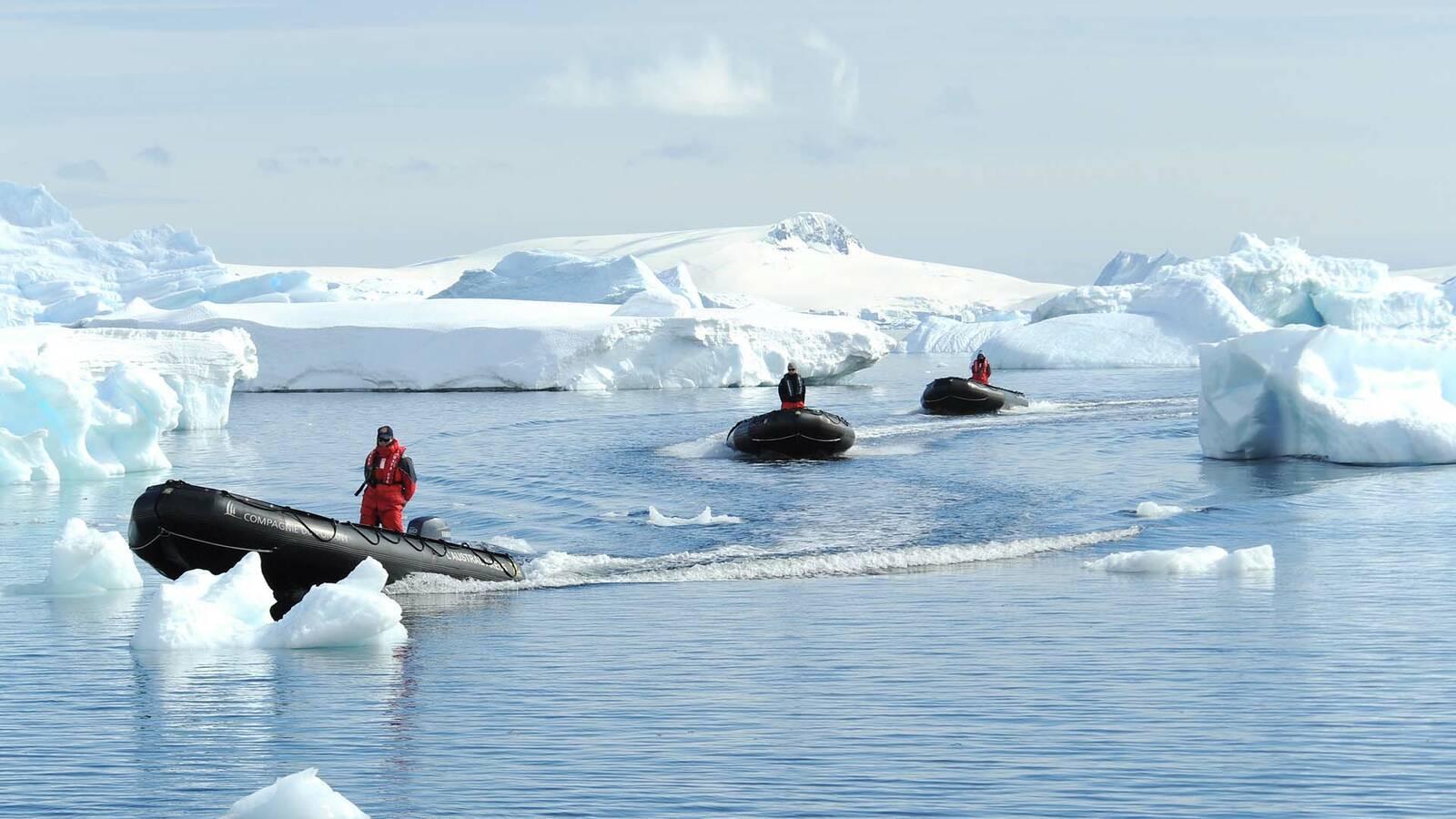 Ponant Croisiere Antarctique Zodiac