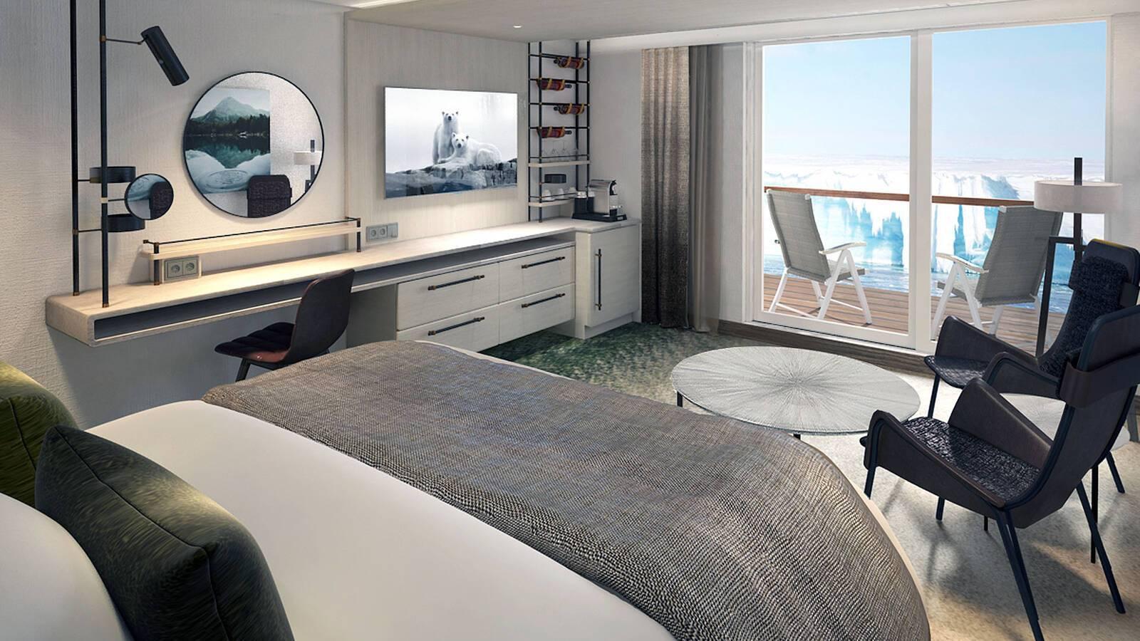 Balcony Suite Croisiere Hurtigruten Islande
