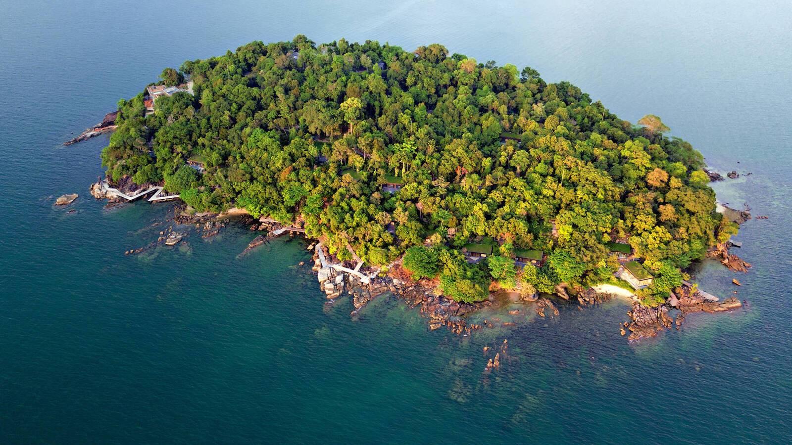 Six Senses Krabey Island Cambodge