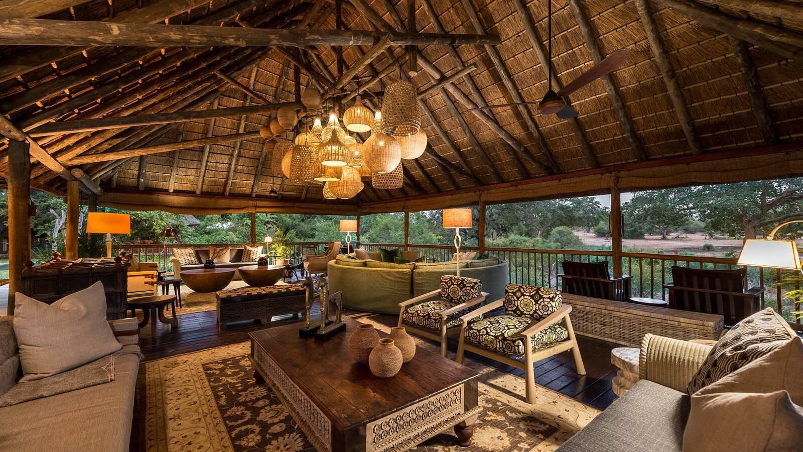Sabi Sabi Bush Lodge Afrique du Sud Terrasse