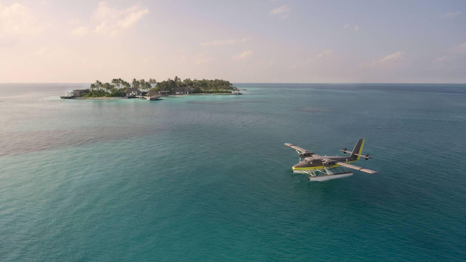 Cheval Blanc Randheli Maldives Seaplane