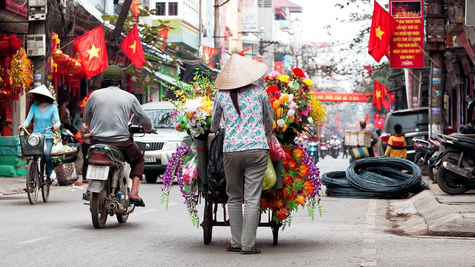 Vietnam Hanoi StreetScene