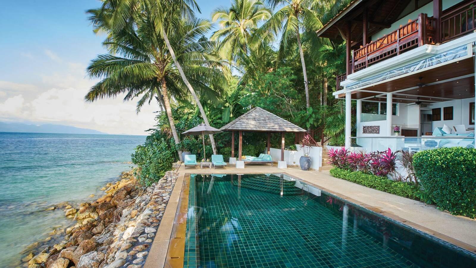 Thailande Koh Samui Napasai Villa Piscine