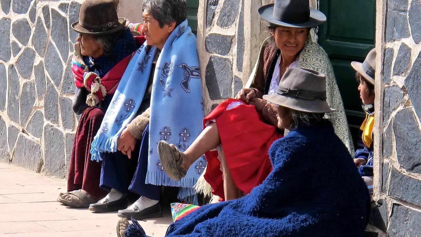 Circuit Bolivie Habitants