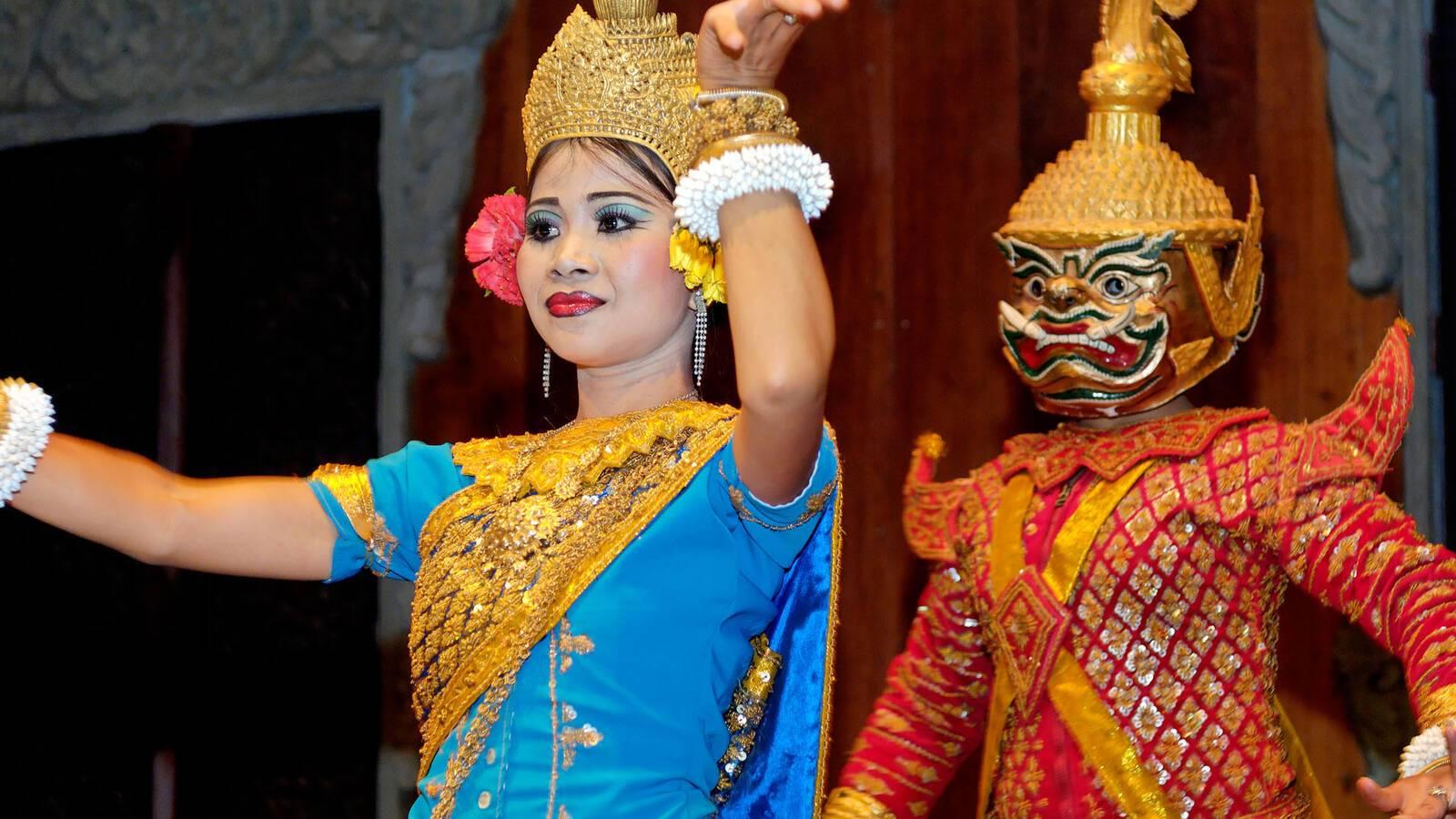 Circuit Cambodge Danses