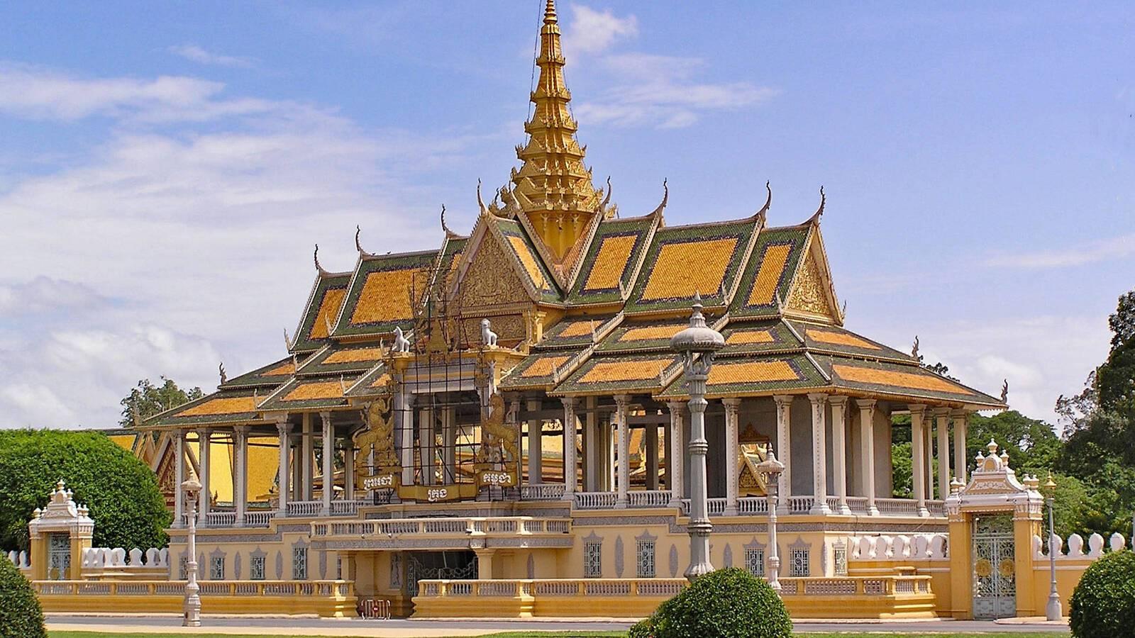 Circuit Cambodge Palais Royal lapping