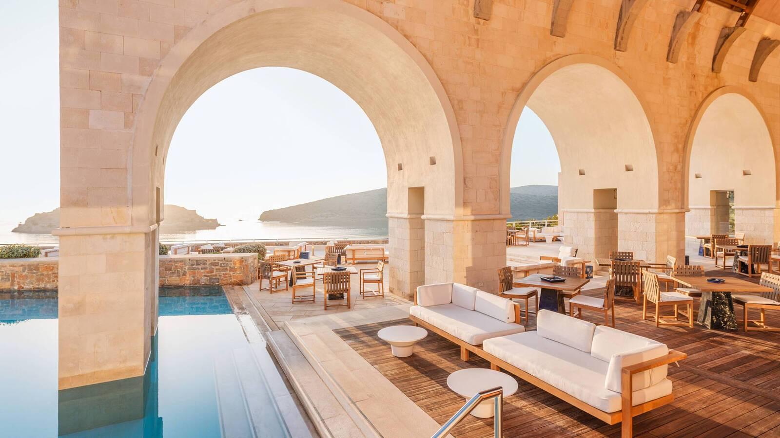 Blue Palace Crete Bar