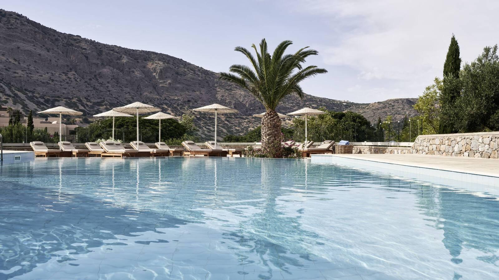 Blue Palace Crete Piscine