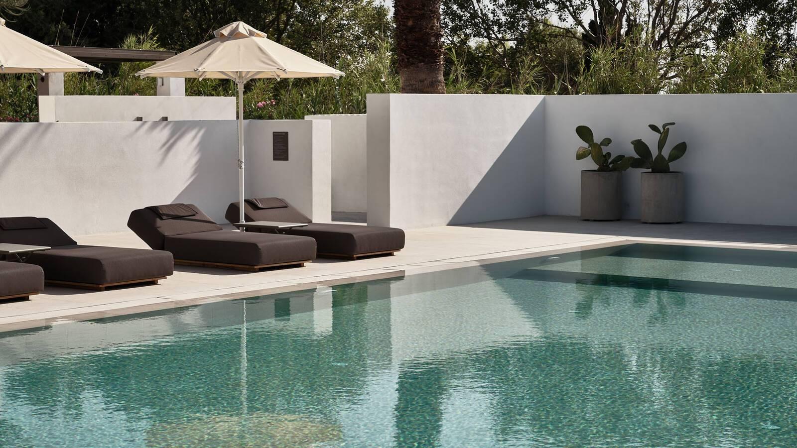 Sejour grece paros parilio piscine transats