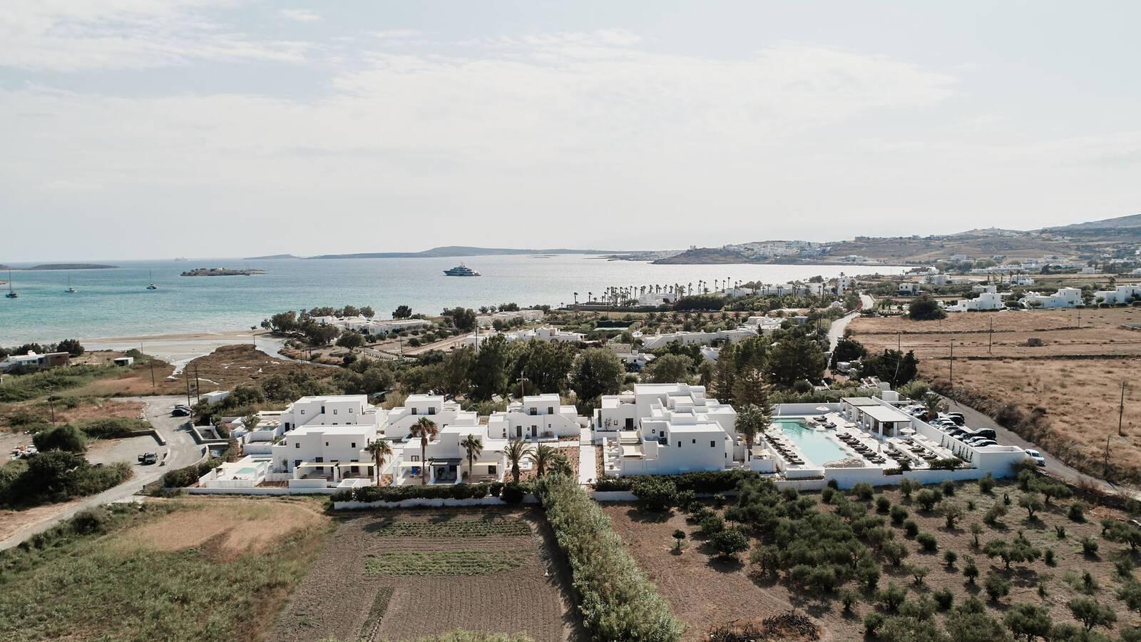 Sejour grece paros parilio vue