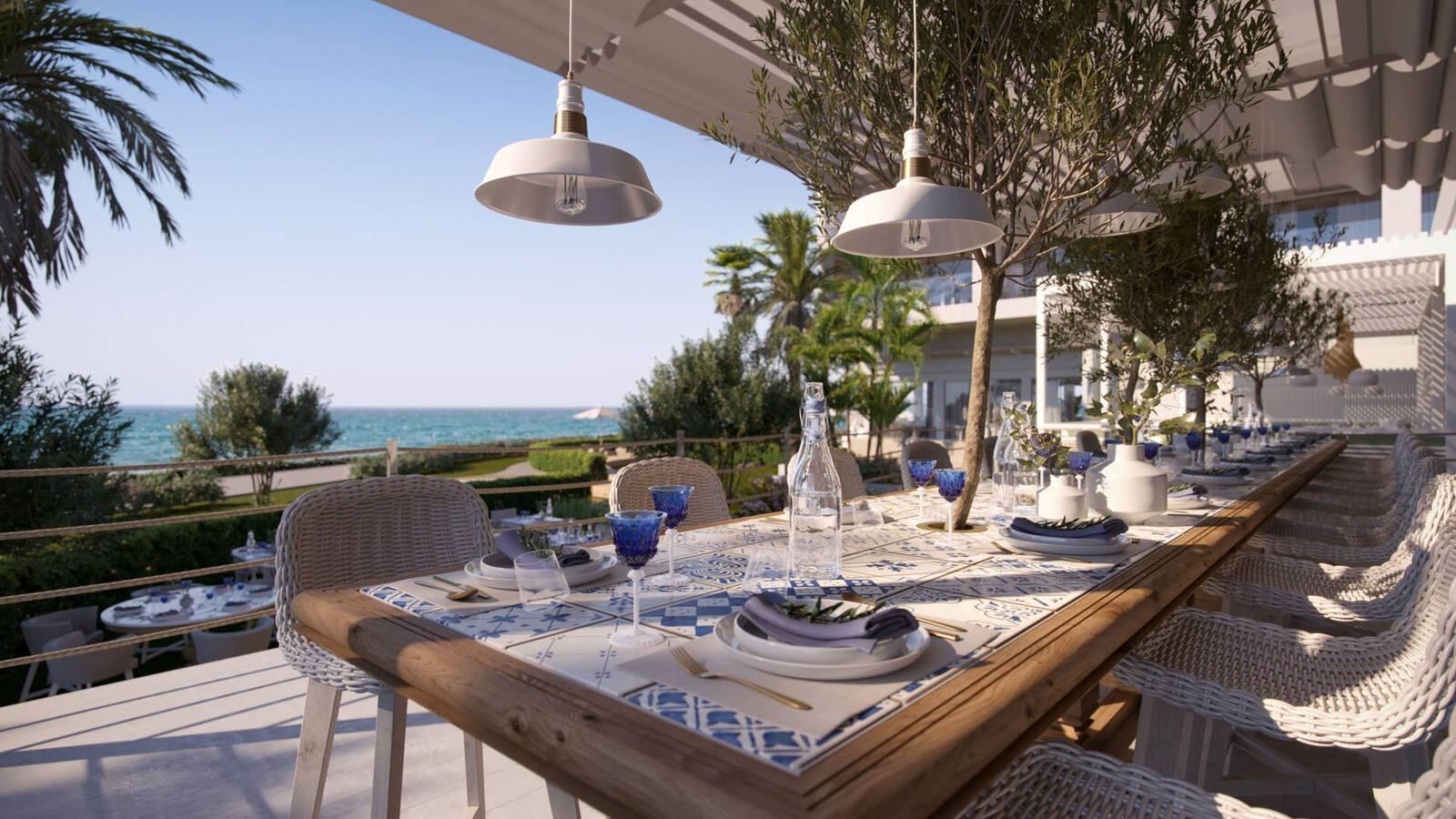 Ikos Andalousia Espagne Ouzo Restaurant