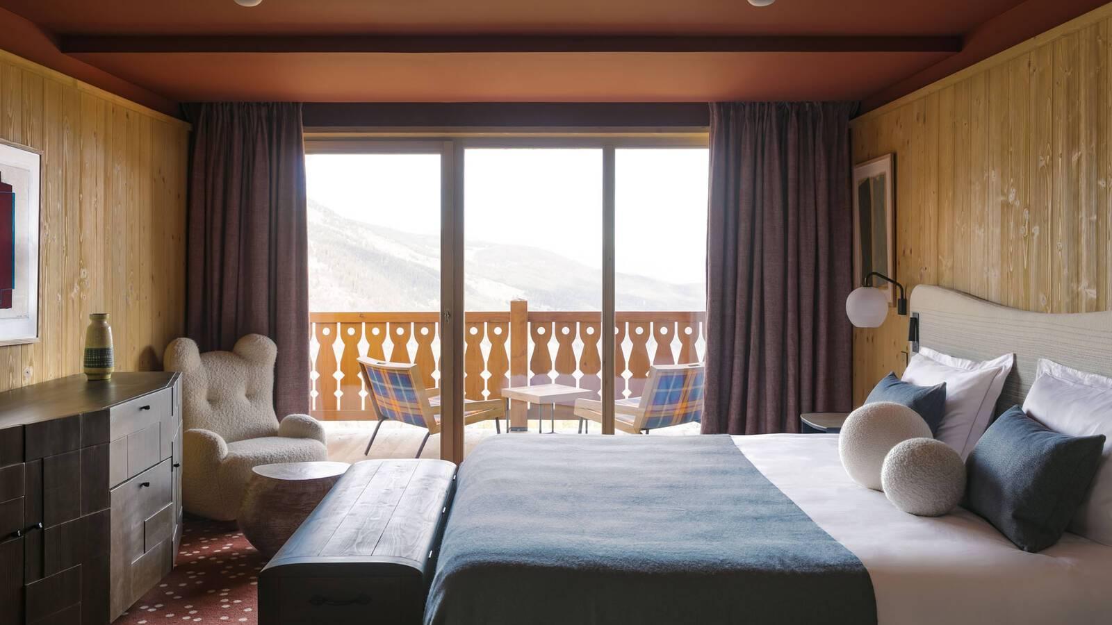 Le Coucou Meribel Suite Balcon