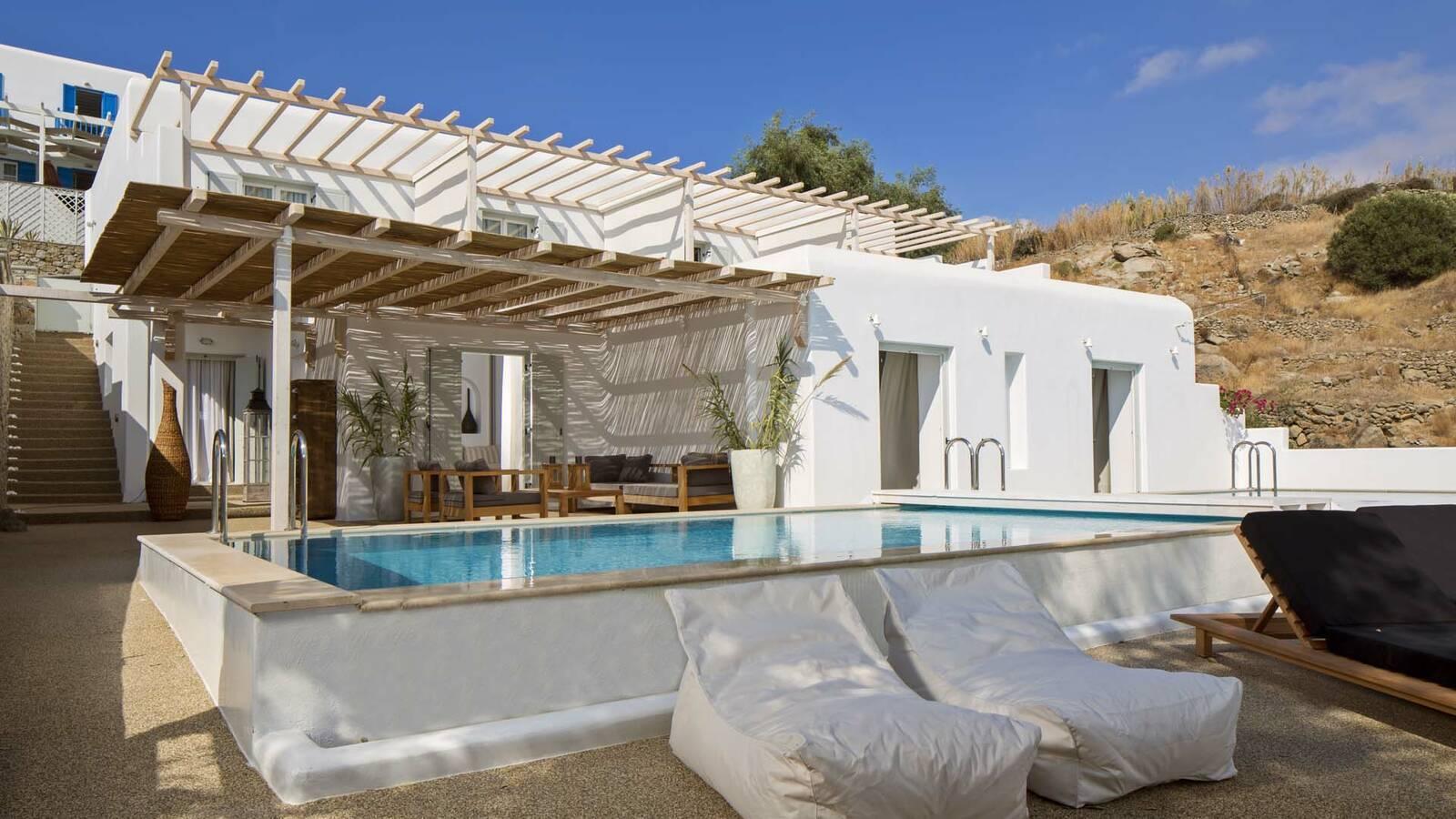 Myconian Ambassador Mykonos piscine villa
