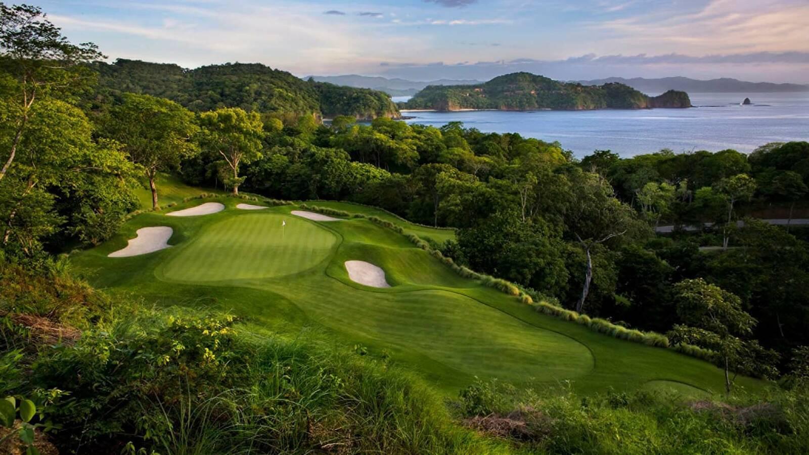 Costa Rica Four Seasons Papagayo parcours golf