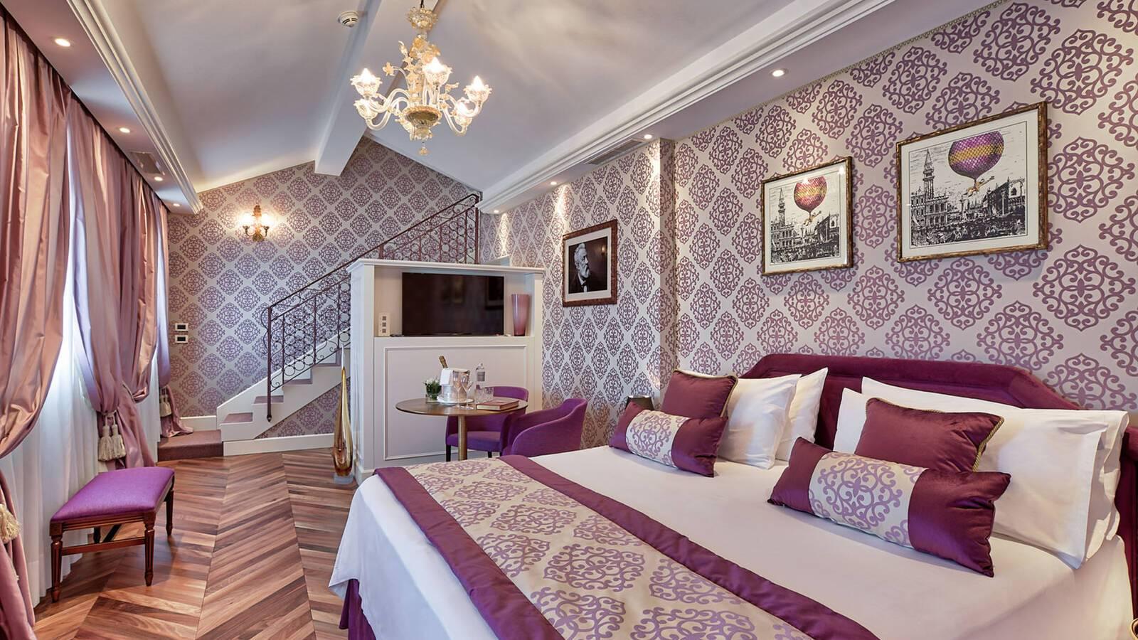 Londra Palace Venise Suite Jules Verne