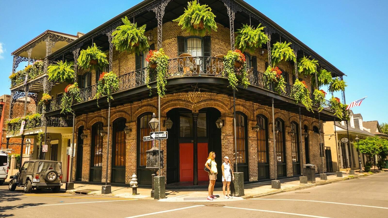 Louisiane new orleans quartier franccais