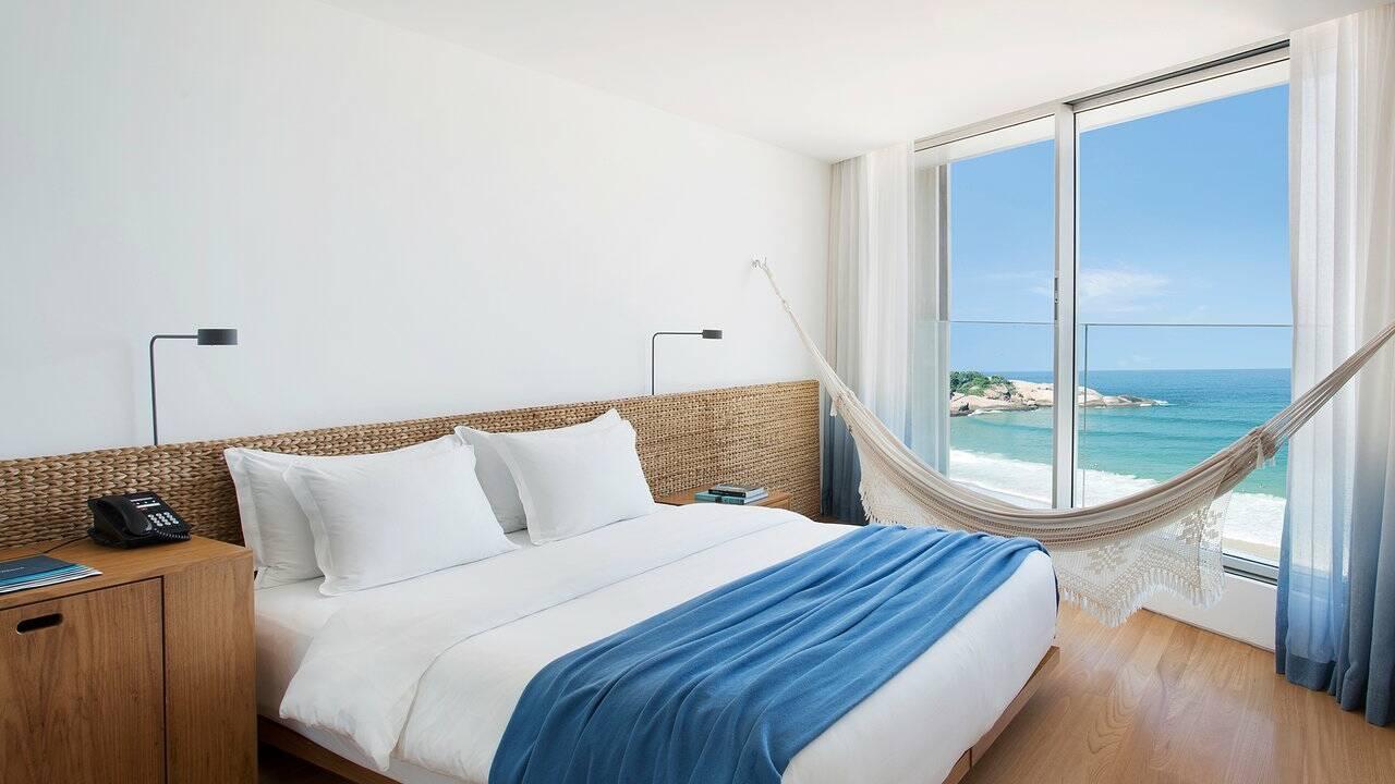 Rio hotel Arpoador Chambre