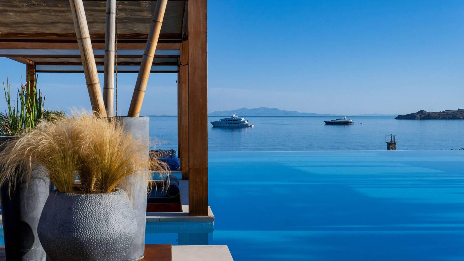 Santa Marina Mykonos oasis infinitypool