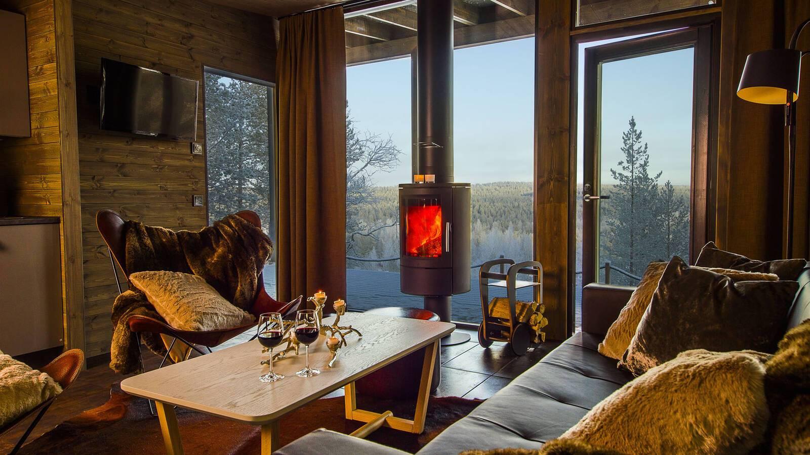 Laponie Finlandaise Arctic GlassHouse Lounge