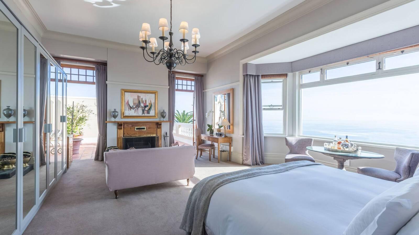 Ellerman House Cap Town Afrique Sud Chambre_
