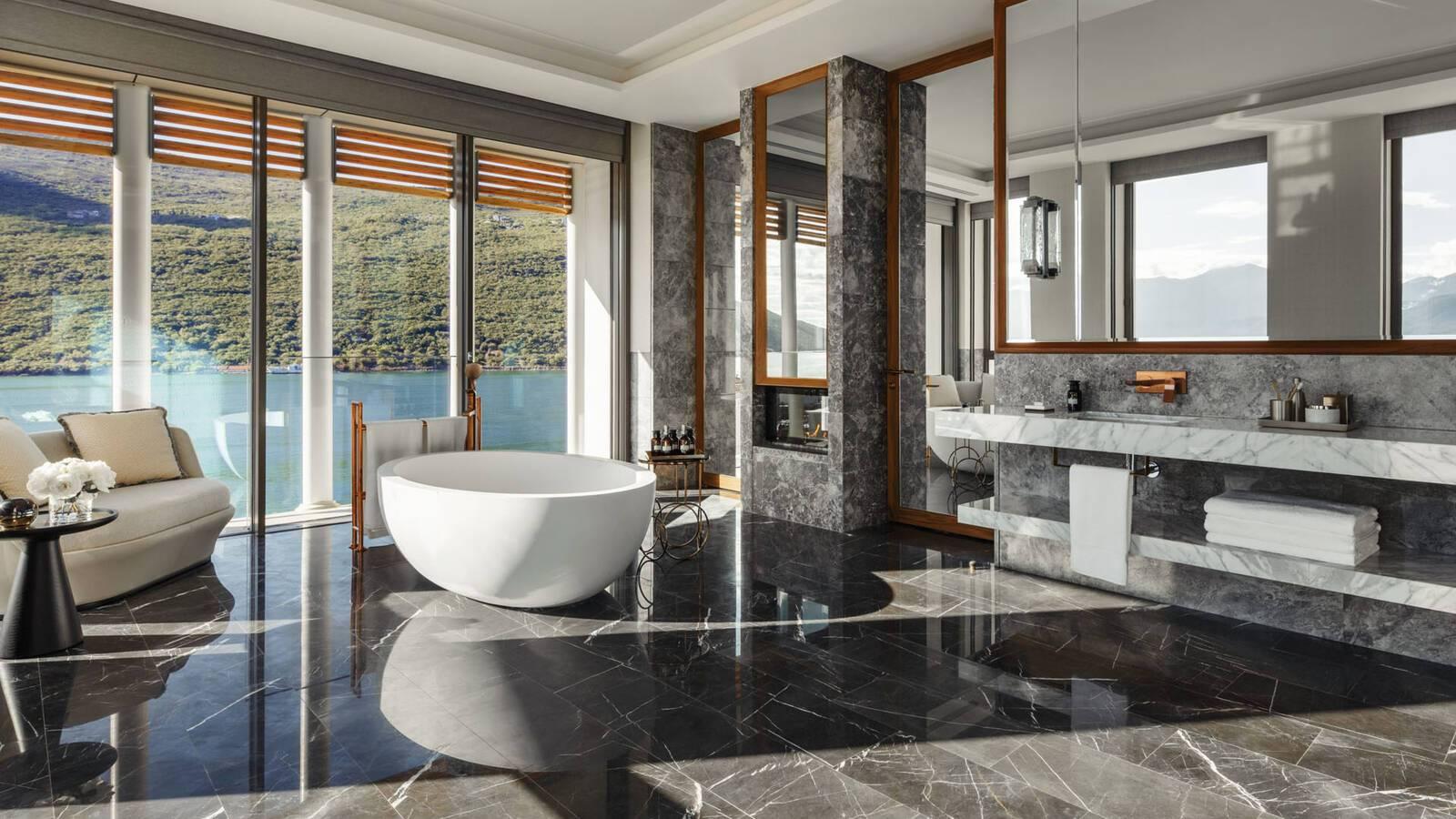 One And Only Portonovi Montenegro SuiteOne Bathroom