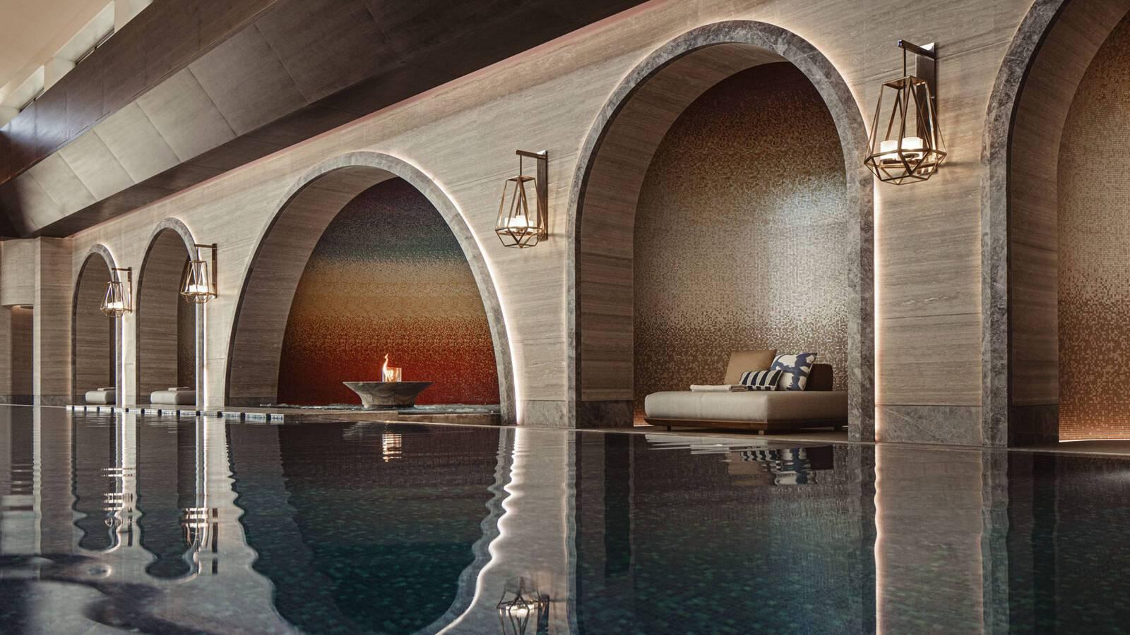 One And Only Portonovi Montenegro Wellness Chenot Espace Indoor Pool