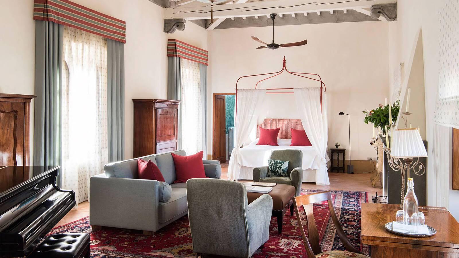 Borgo Pignano Toscane Chambre