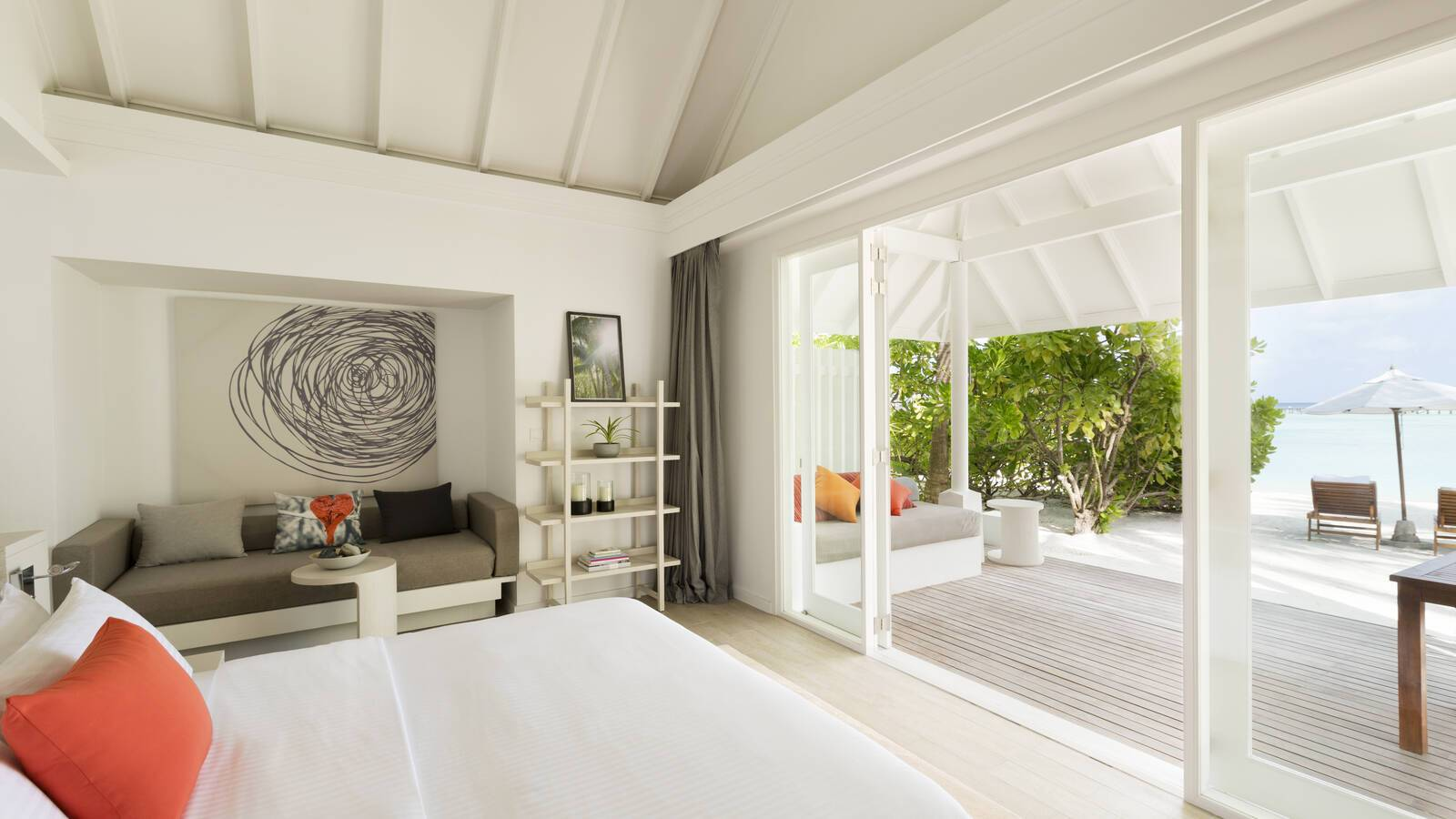Lux South Ari Atoll Beach Villa Chambre Maldives