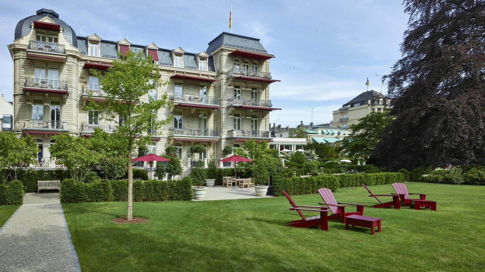 Brenners Baden Baden Villa Stephanie Jardins