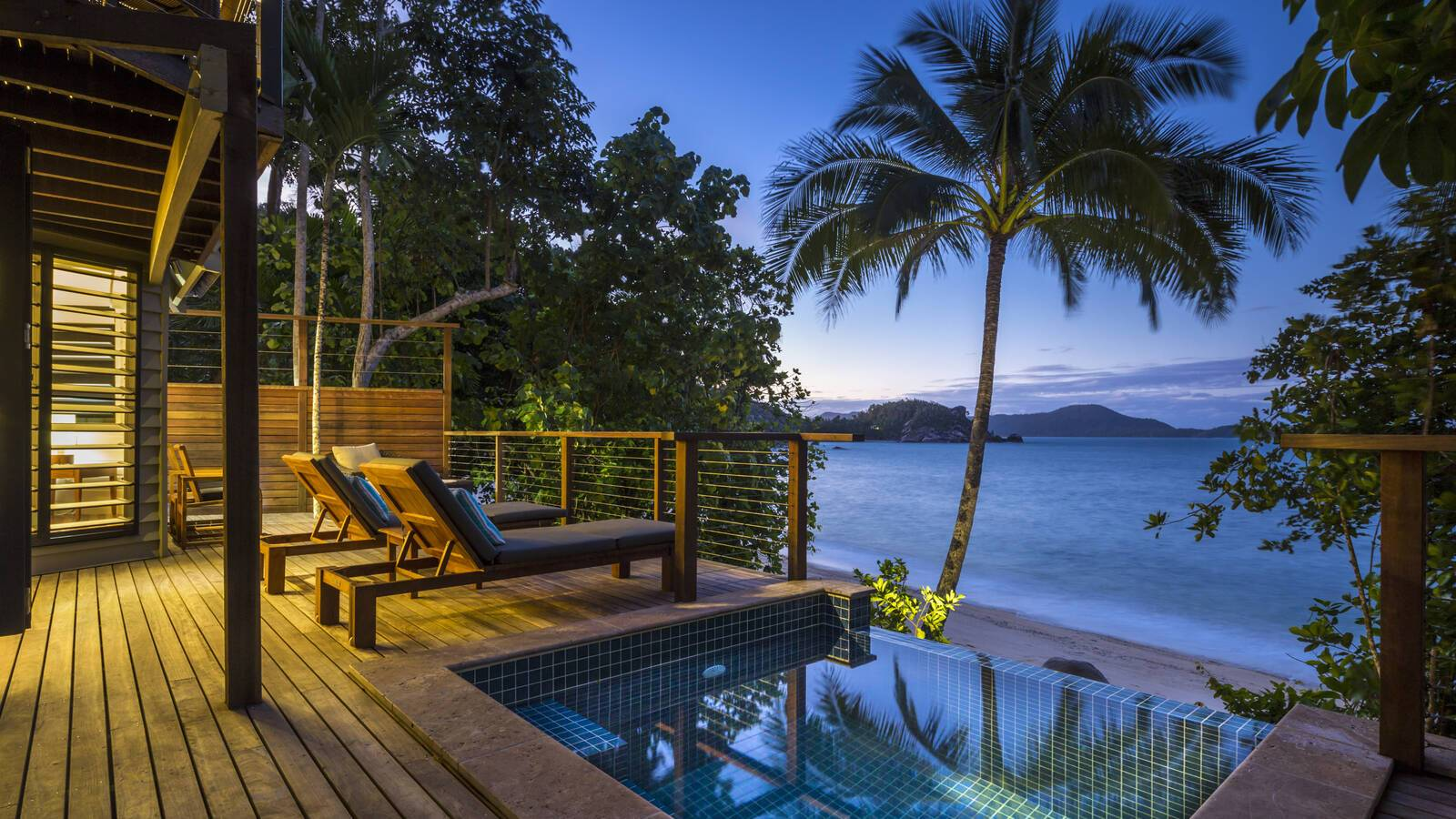 Bedarra Island Beach House Piscine Australie