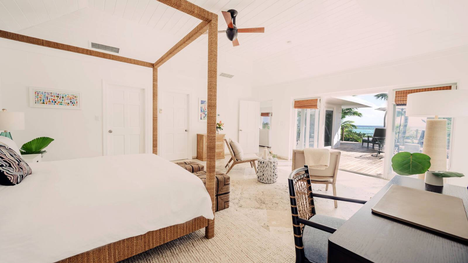 Pink Sands Harbour Island Bahamas Bedroom