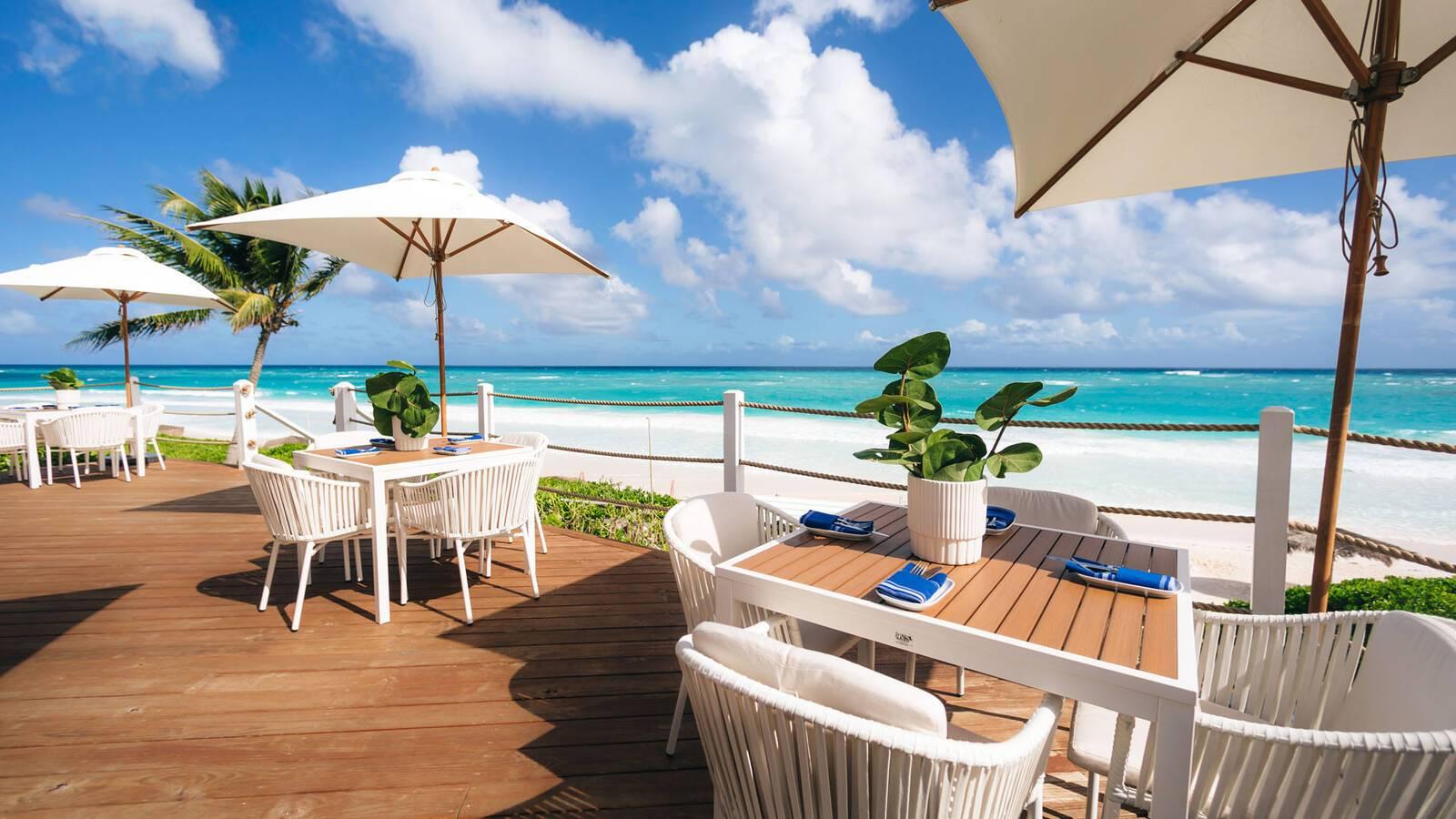 Pink Sands Harbour Island Bahamas Blue Bar