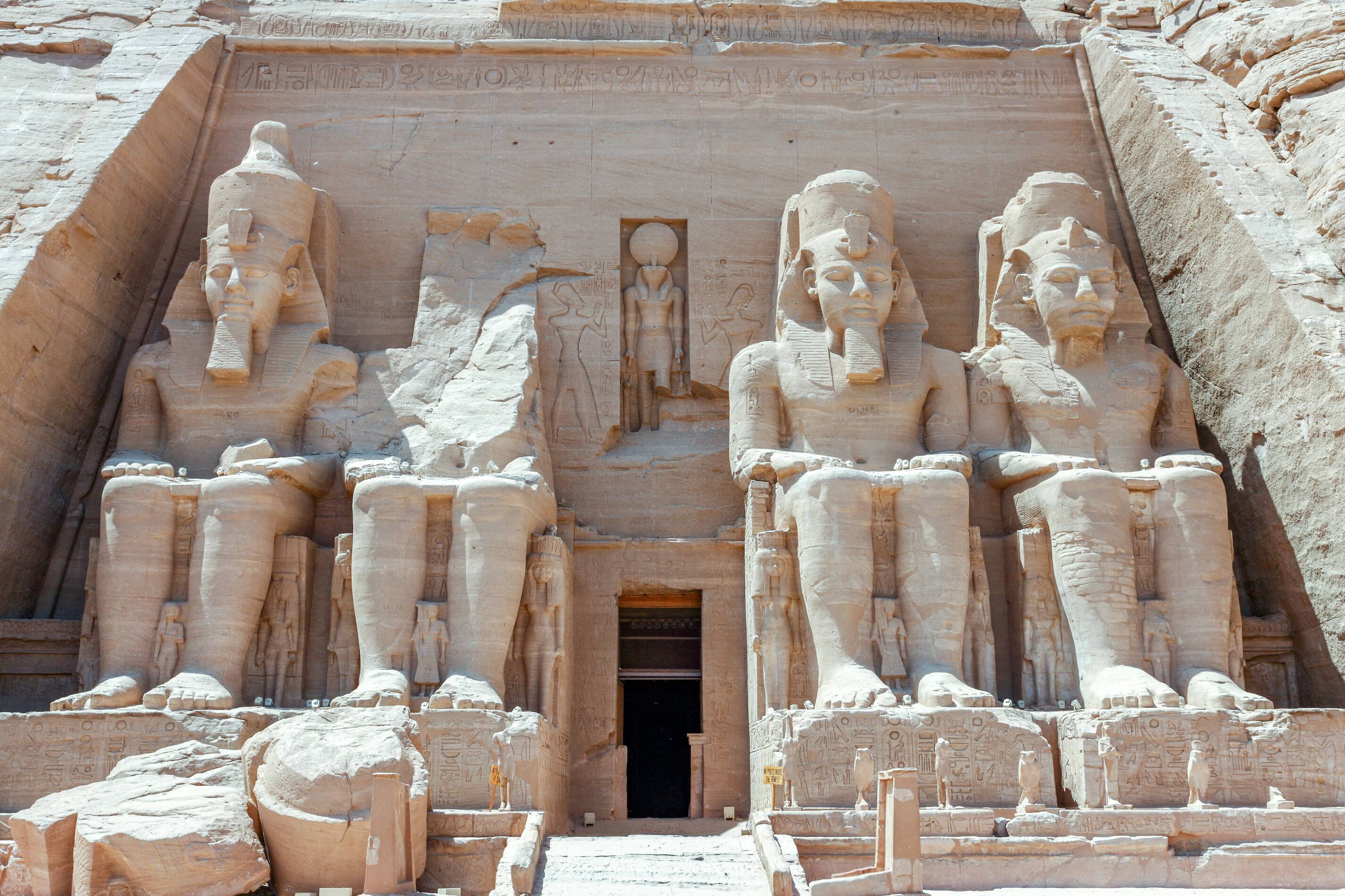 une excursion à Abu Simbel