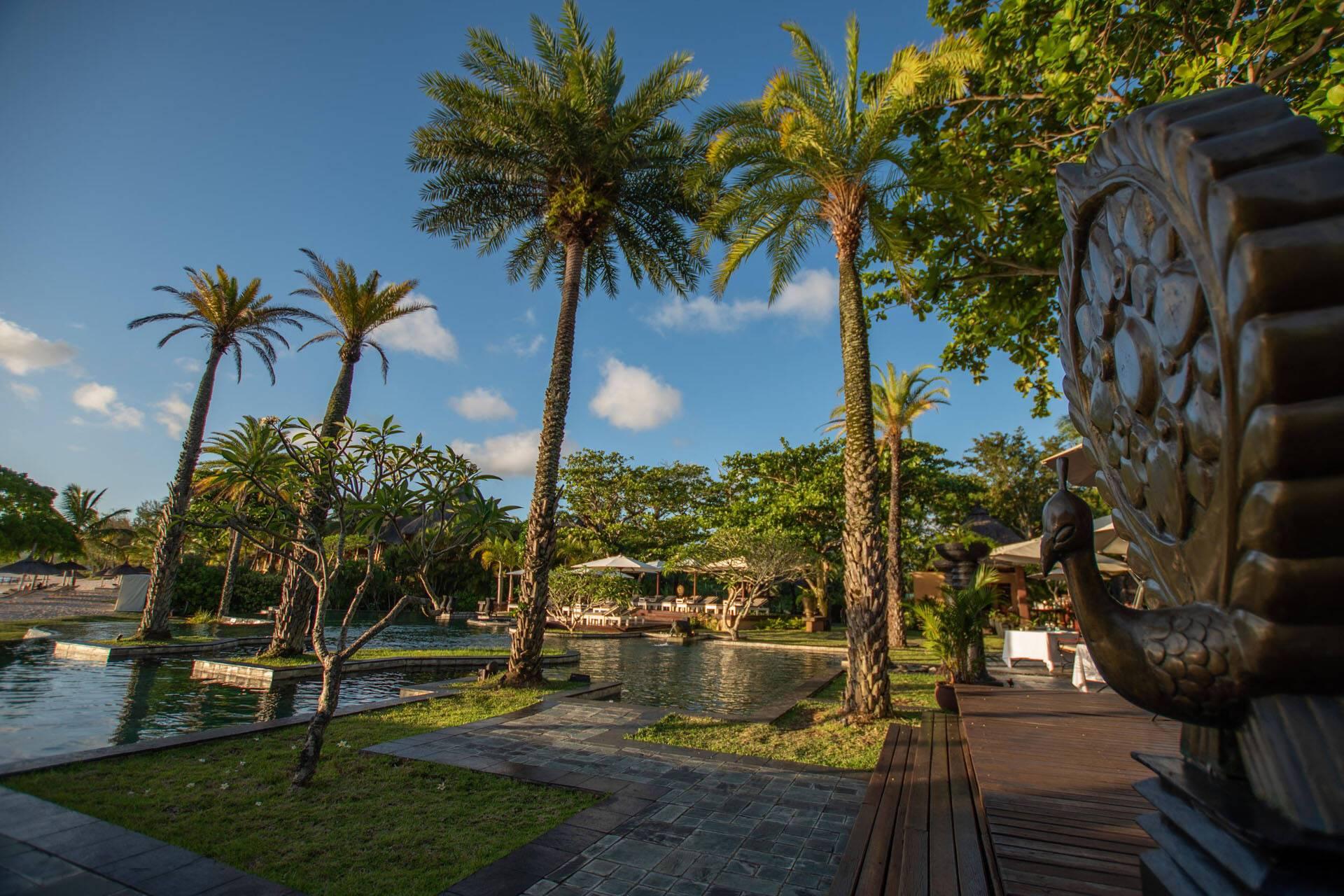 Shanti Maurice Courtyard Main Pool