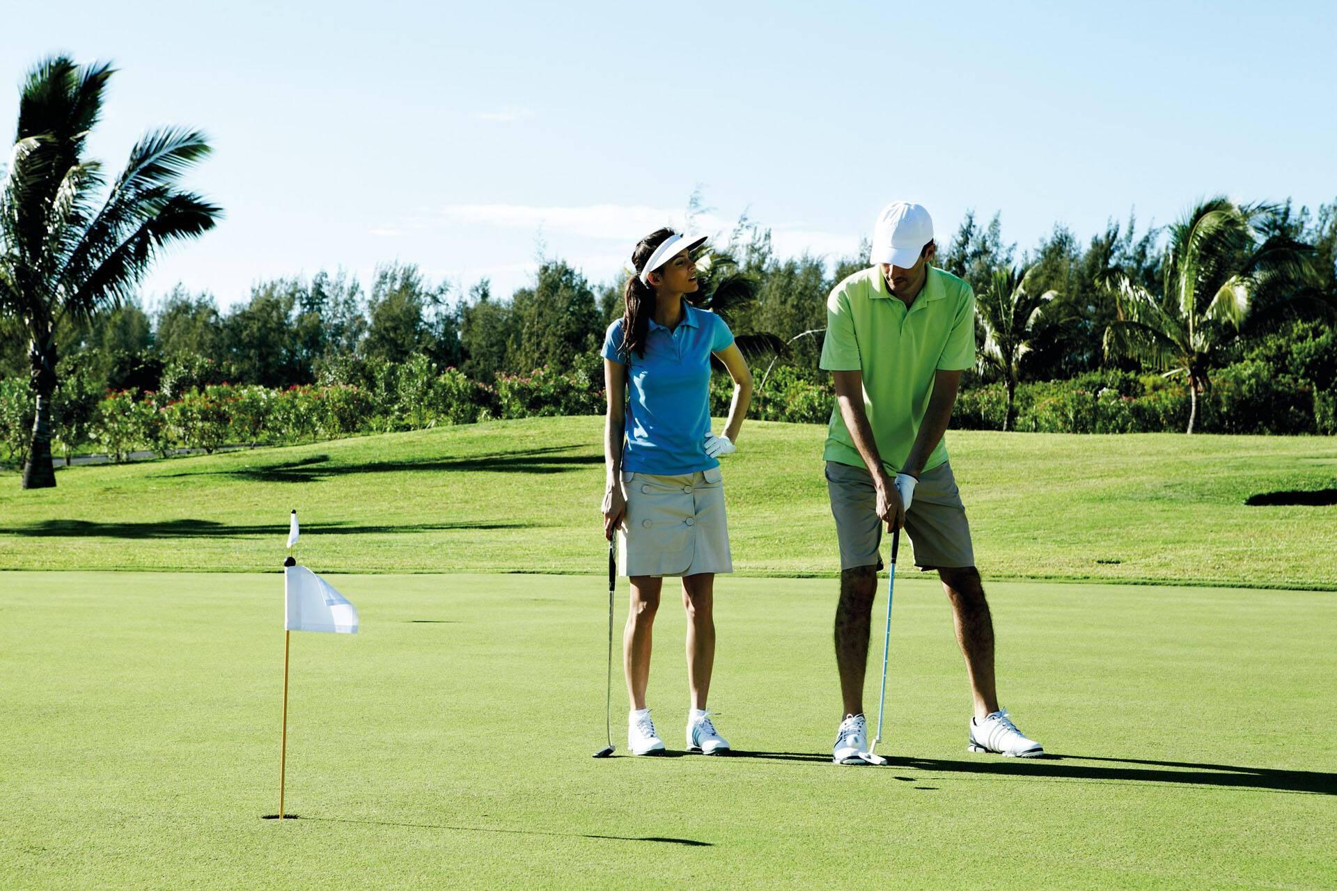 Shanti Maurice Golf