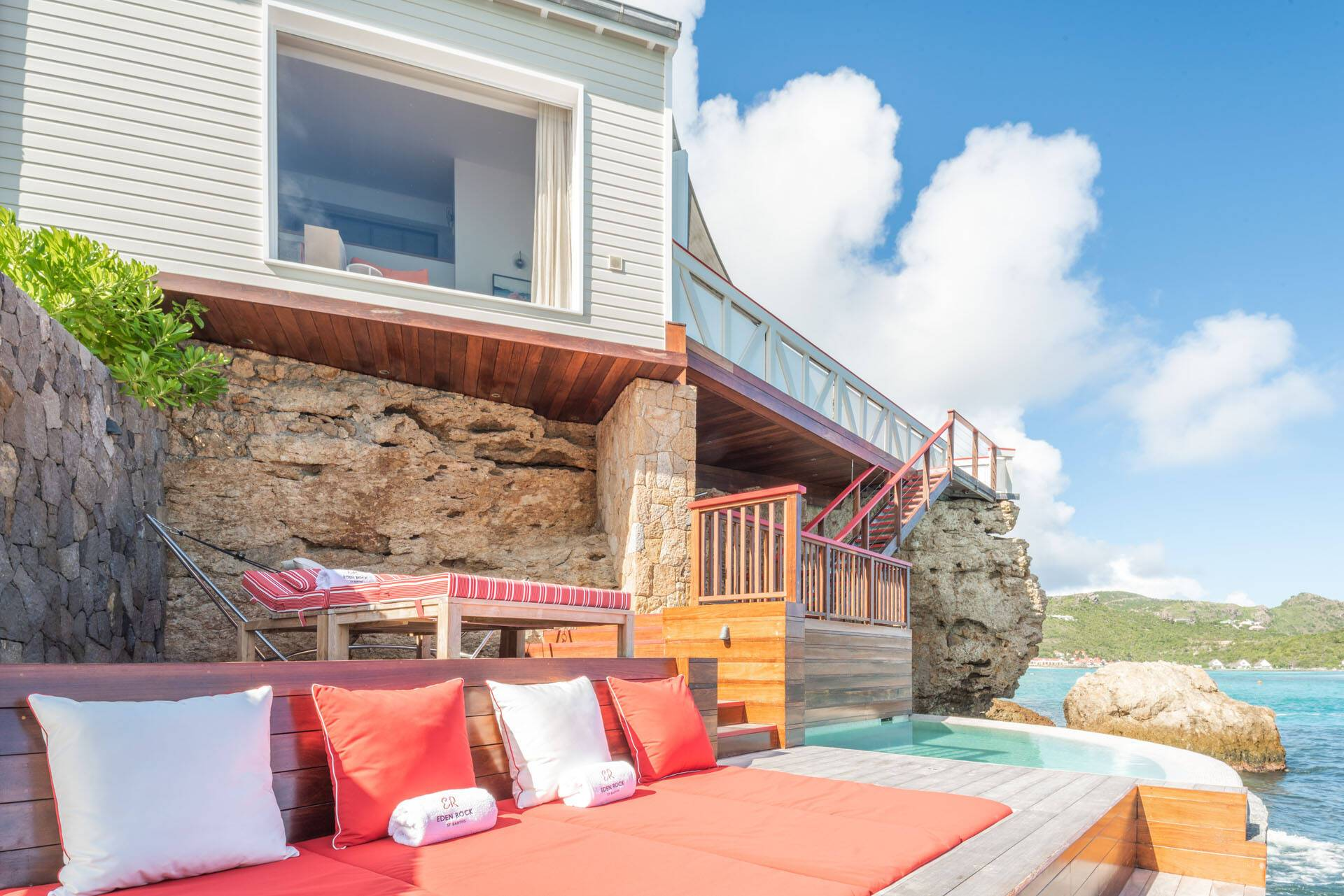 Eden Rock Saint Barth Fregate Premium Suite Terrace