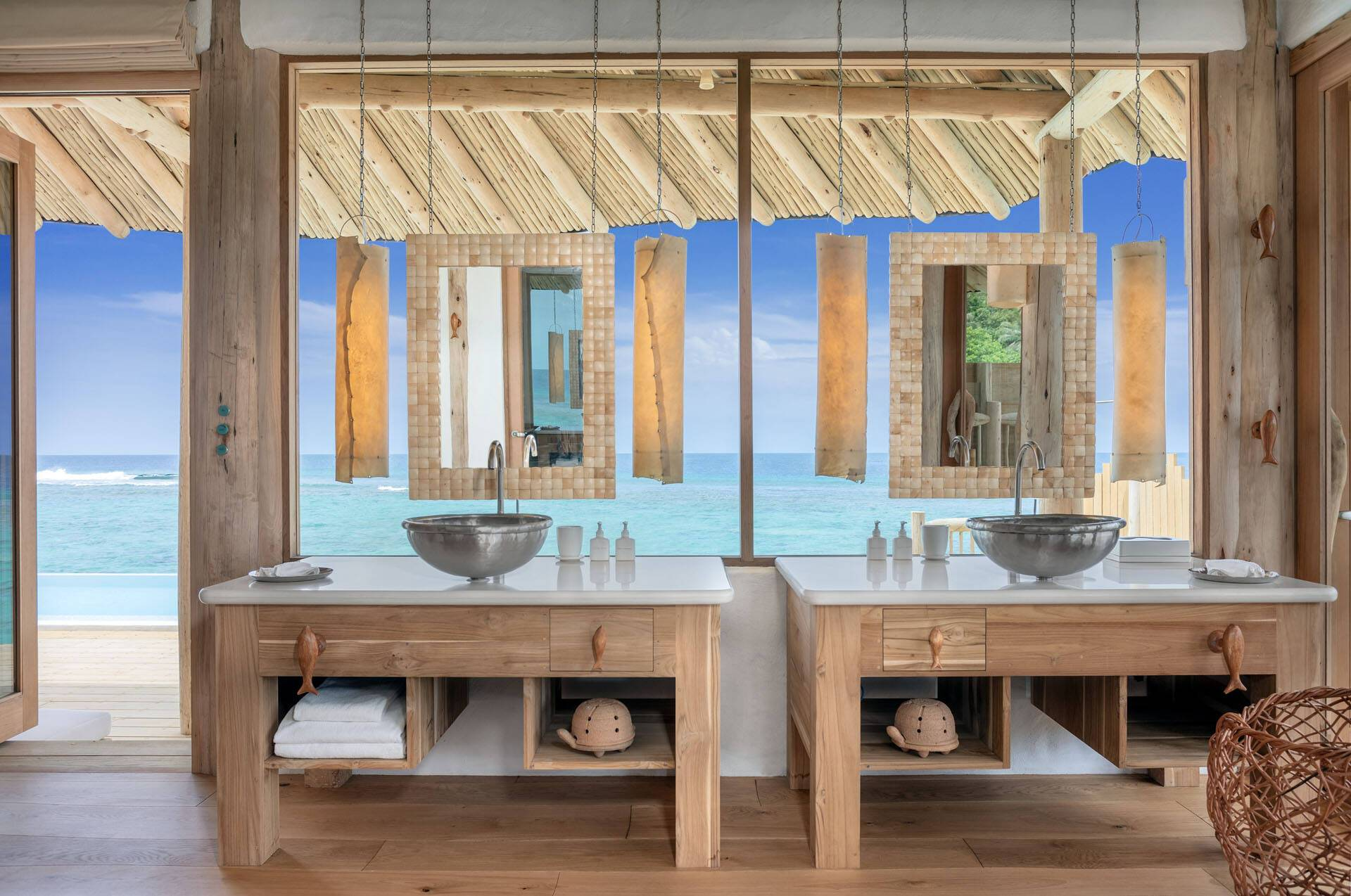 Soneva Fushi Maldives Water Retreat Salle Bains