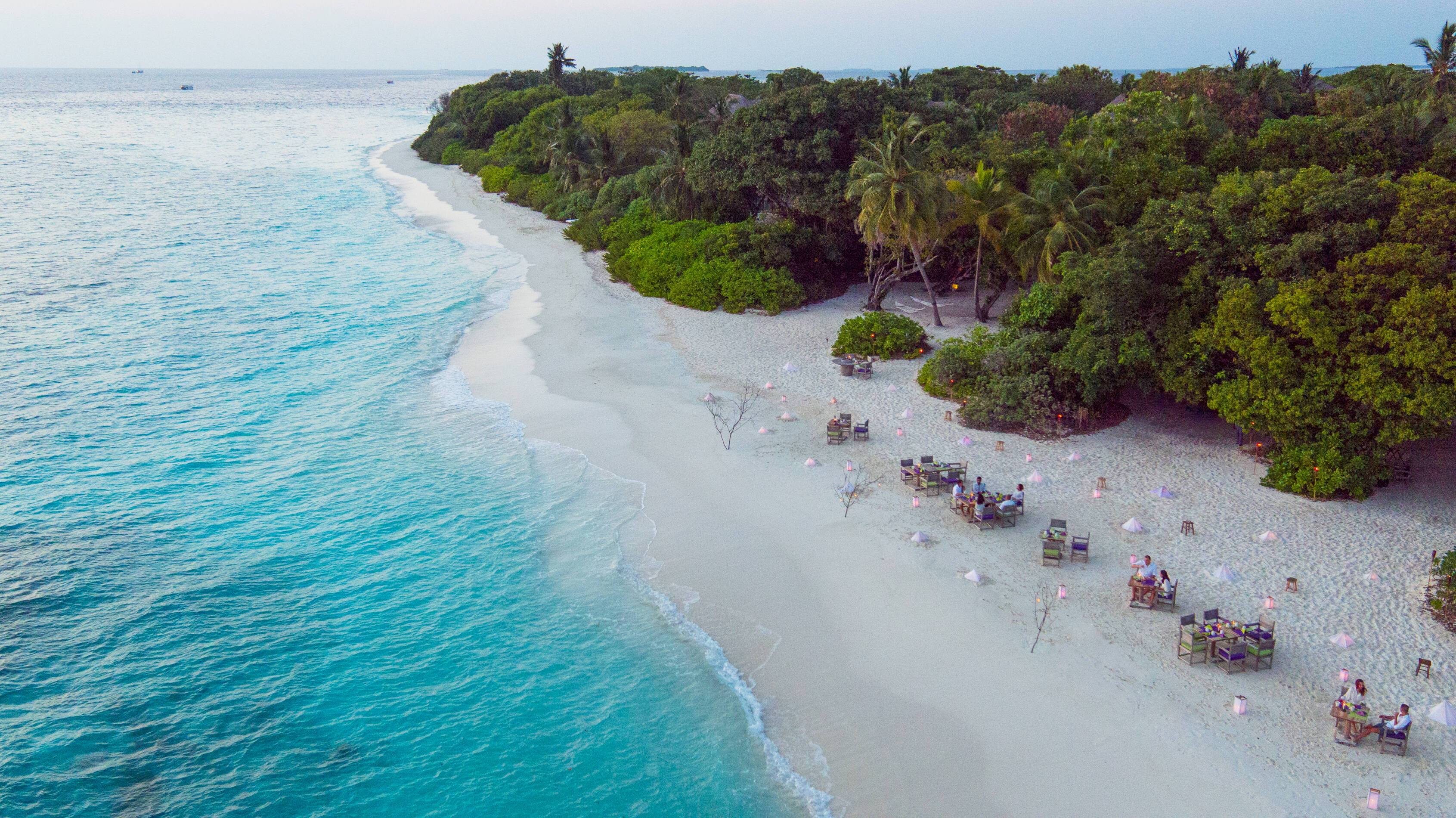 Soneva Fushi Restaurant Plage Maldives