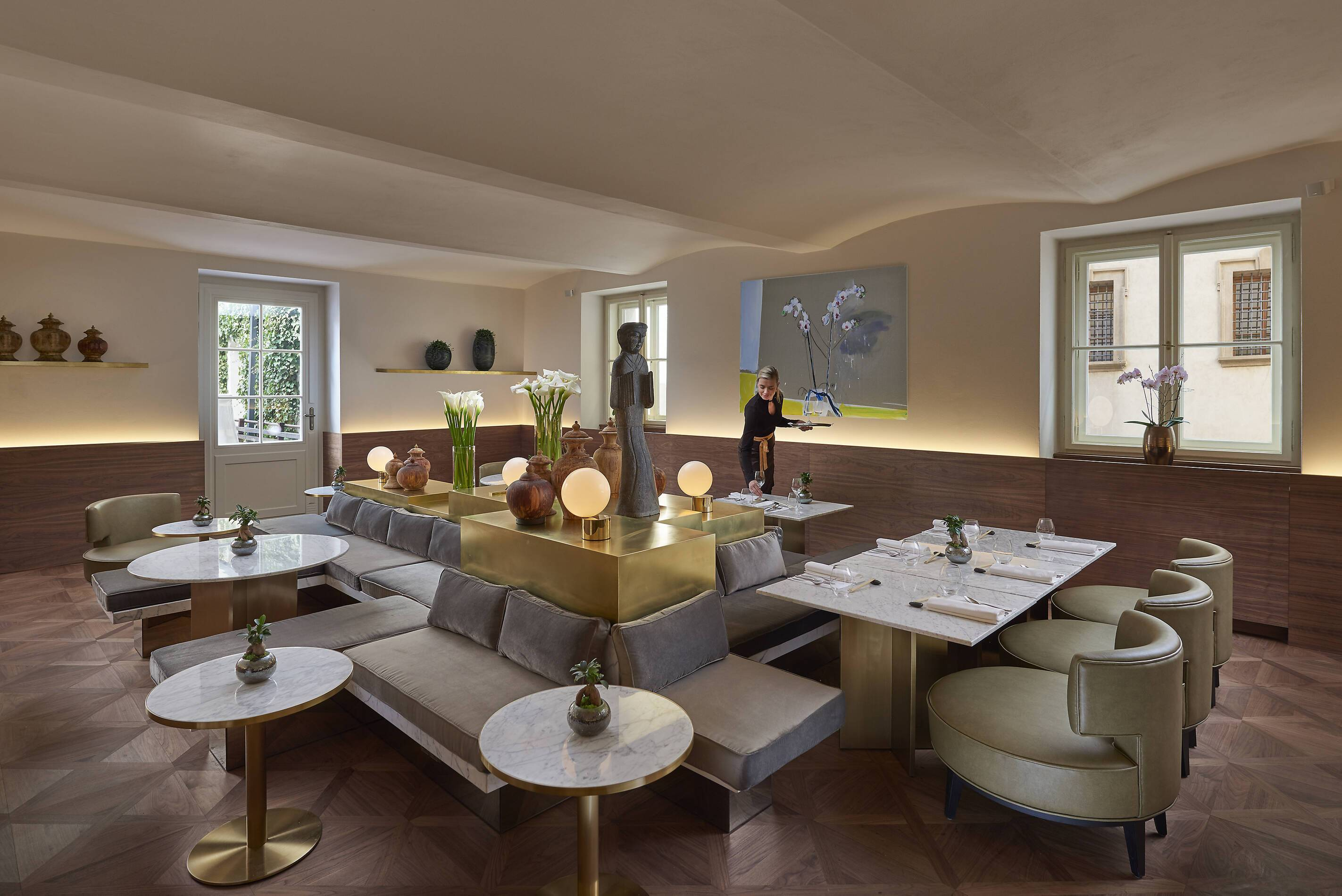 Mandarin Oriental Restaurant Prague